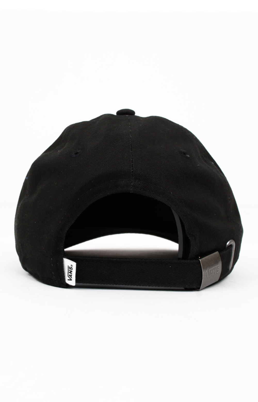 Court Side Dad Hat - Black/Flame 2