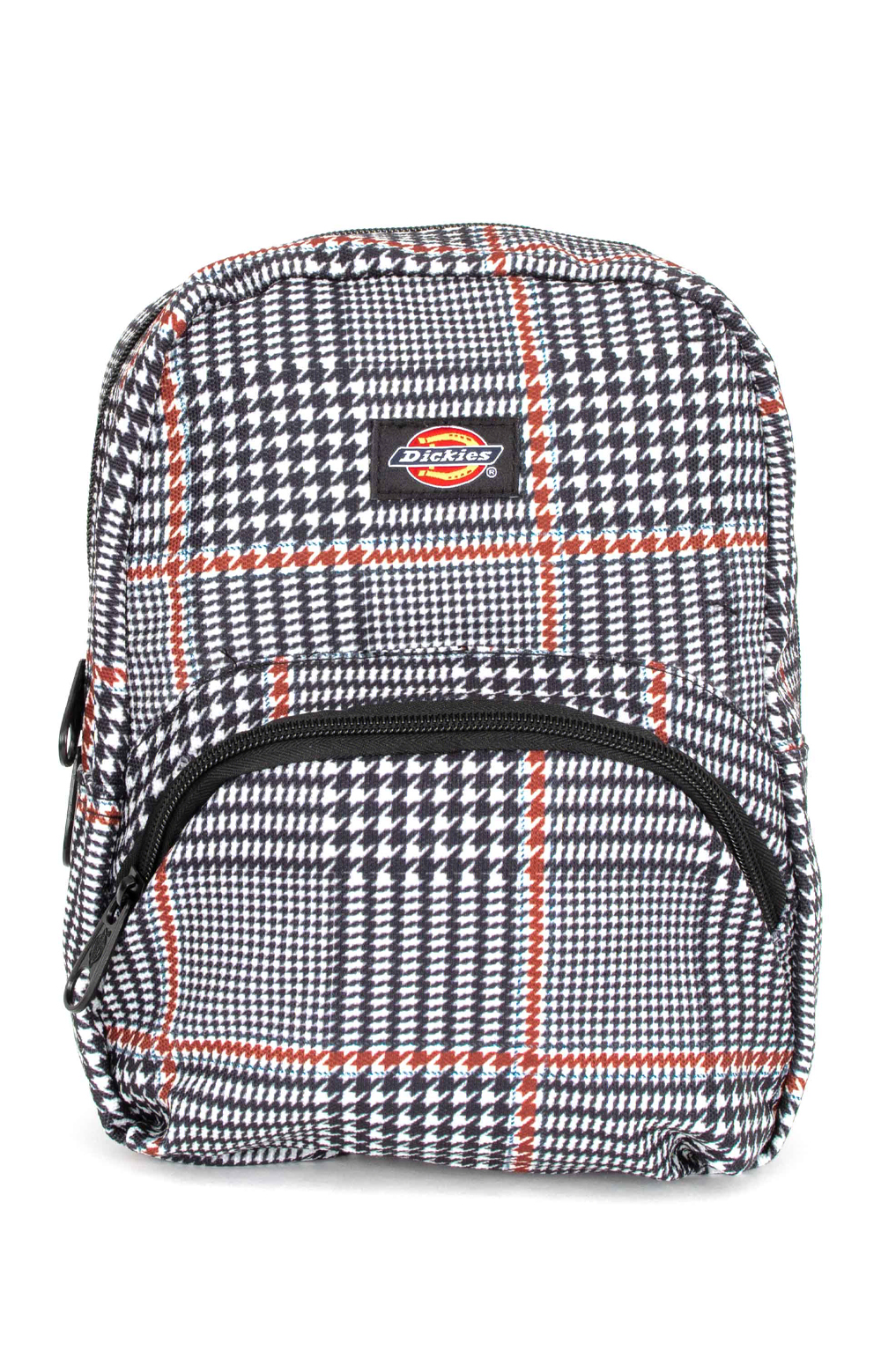 Plaid Mini Backpack - Black Glen Plaid