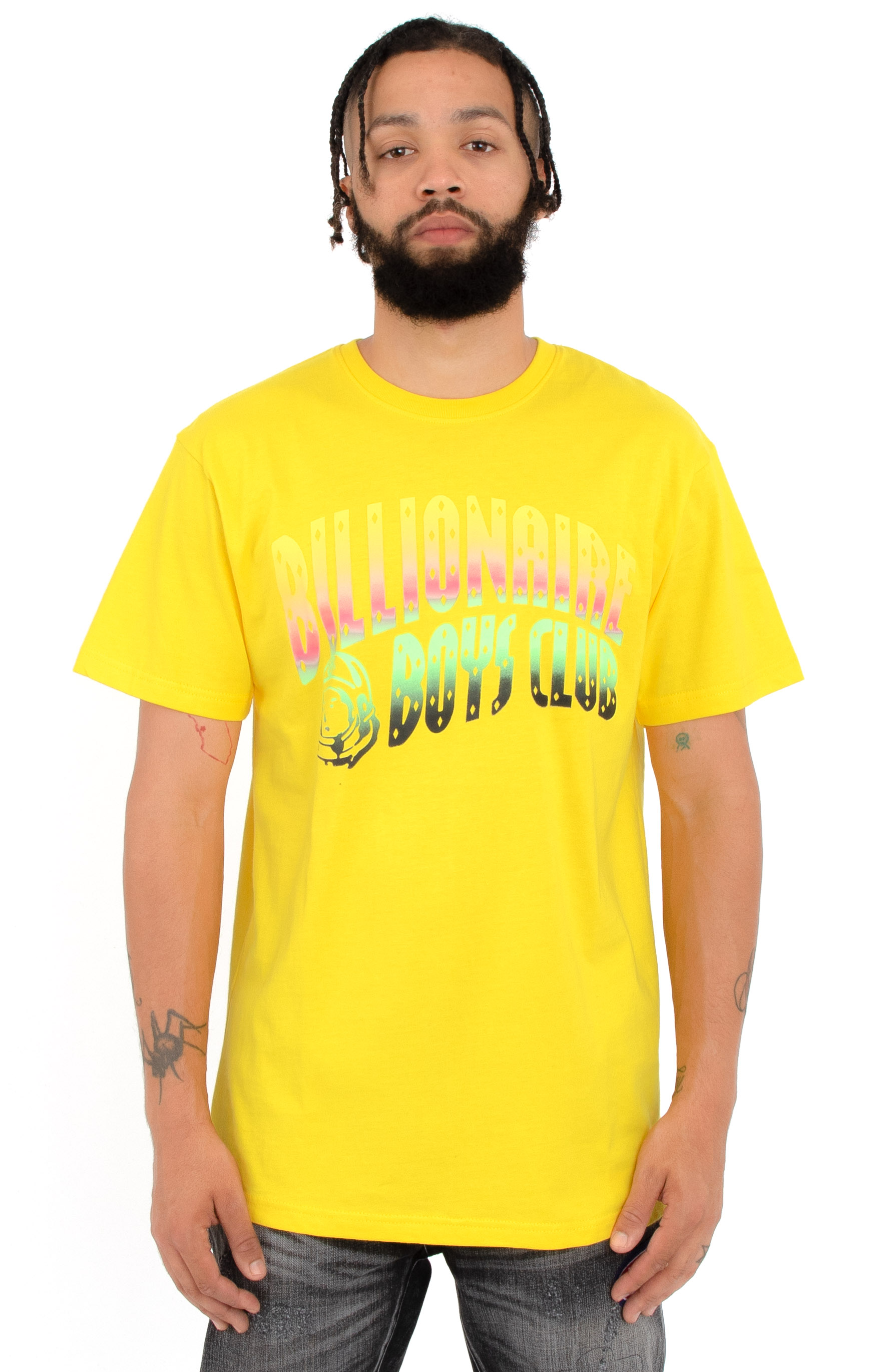 Billionaire Boys Club, BB Speed Arch T-Shirt - Yellow