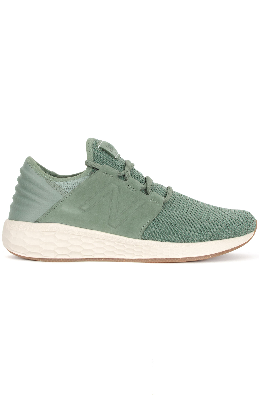 (MCRUZV2) Fresh Foam Cruz V2 Nubuck Shoe - Green