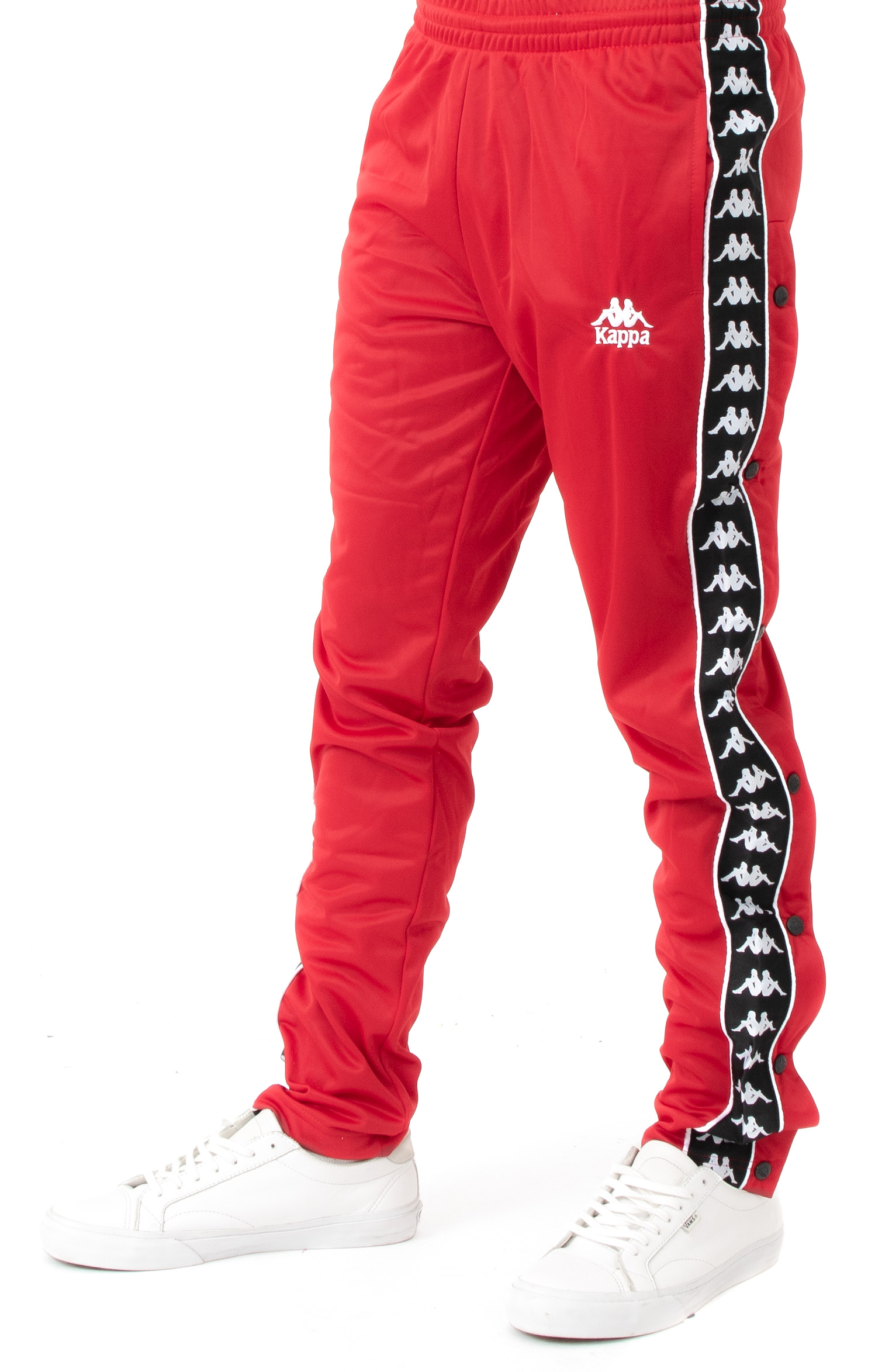 4d49a14a284c Thumbnail 1 Thumbnail 1 Thumbnail 1. Authentic Hector Slim Fit Track Pant -  Red/Black/White