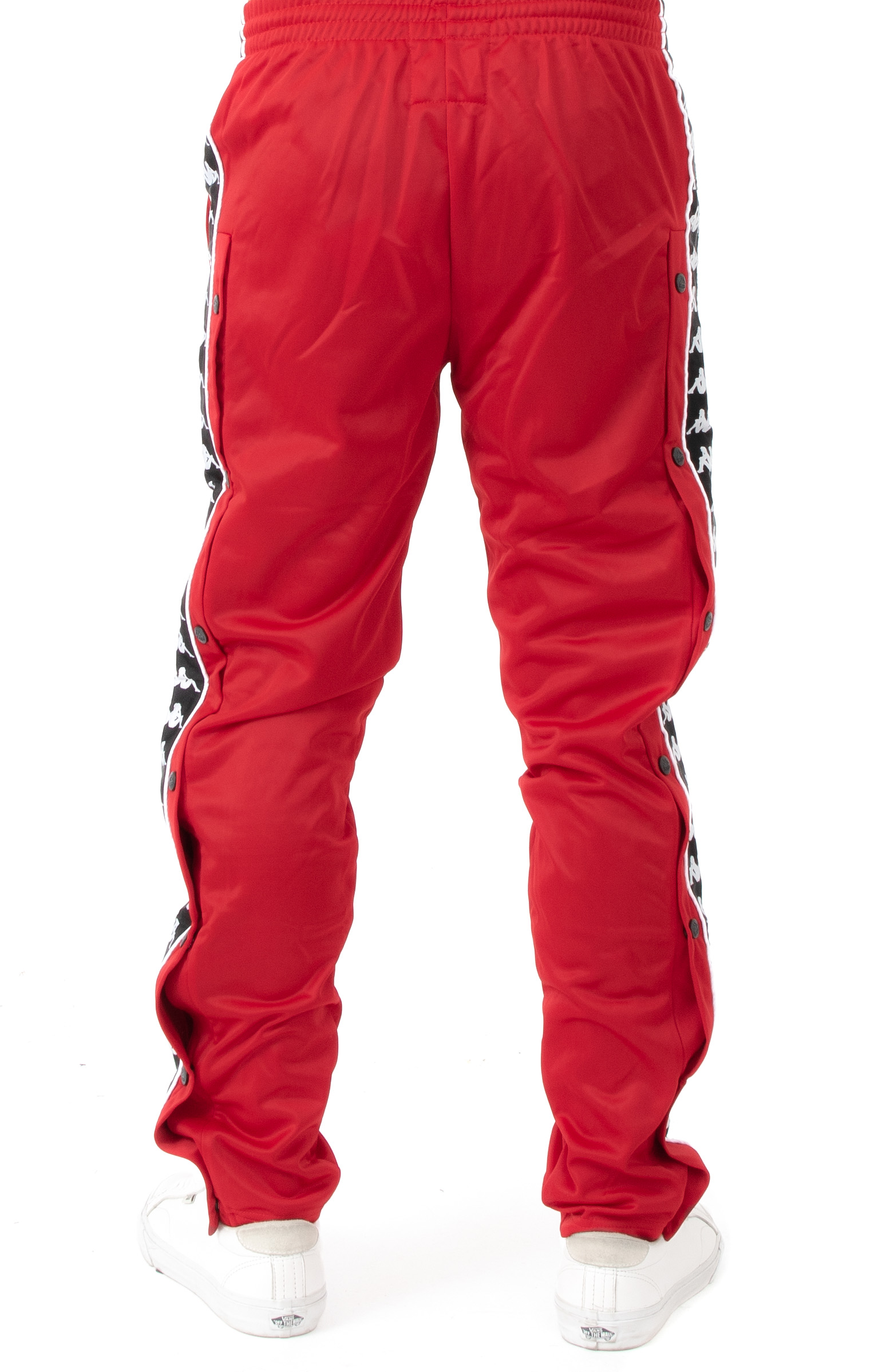 57b84b5a9152 Authentic Hector Slim Fit Track Pant - Red/Black/White. Thumbnail 1  Thumbnail 1 Thumbnail 1