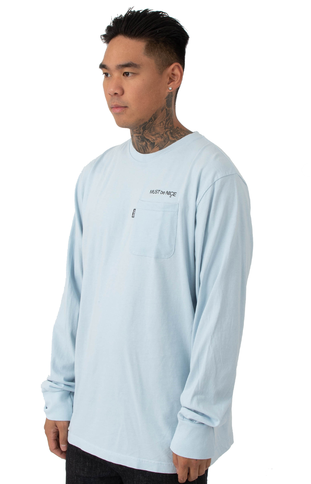 Mother L/S Shirt - Baby Blue 3