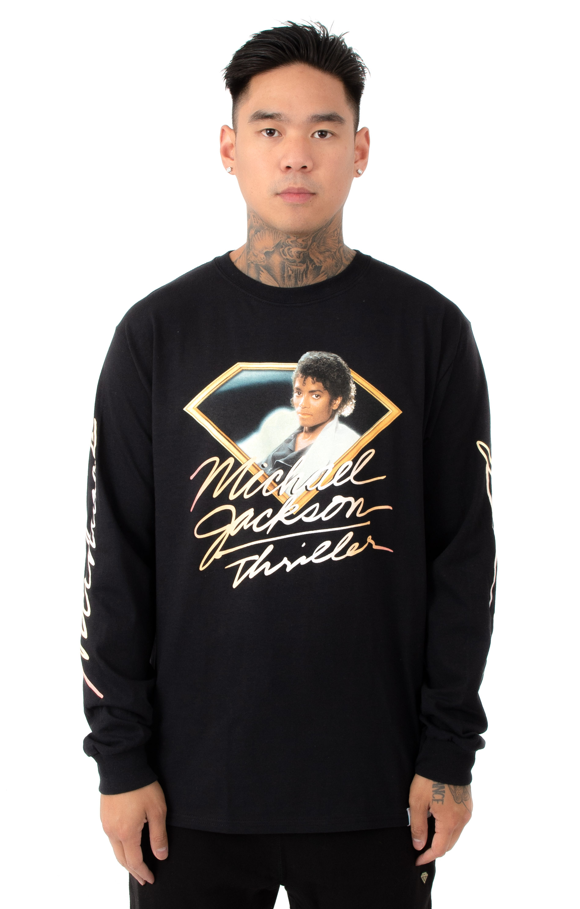 Thriller L/S Shirt - Black