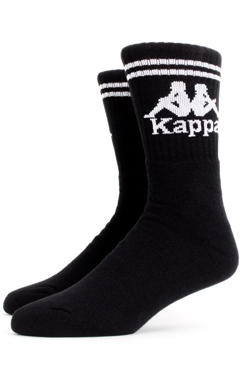 Kappa, Authentic Aster Socks - Black