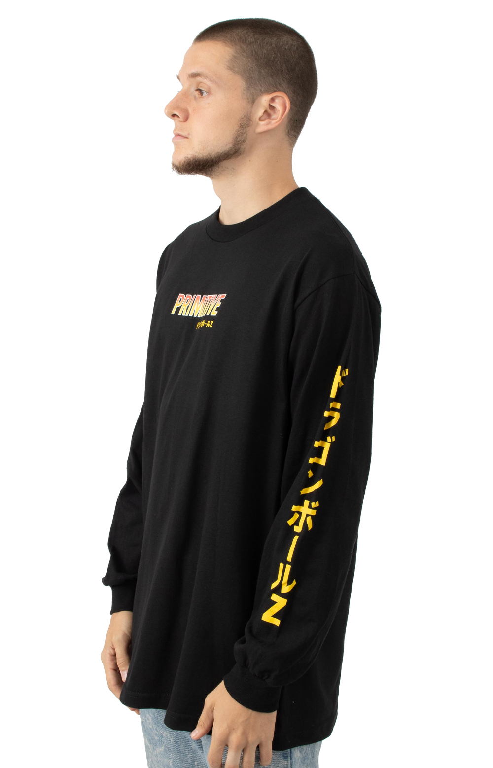 Super Saiyan Goku L/S Shirt - Black 3