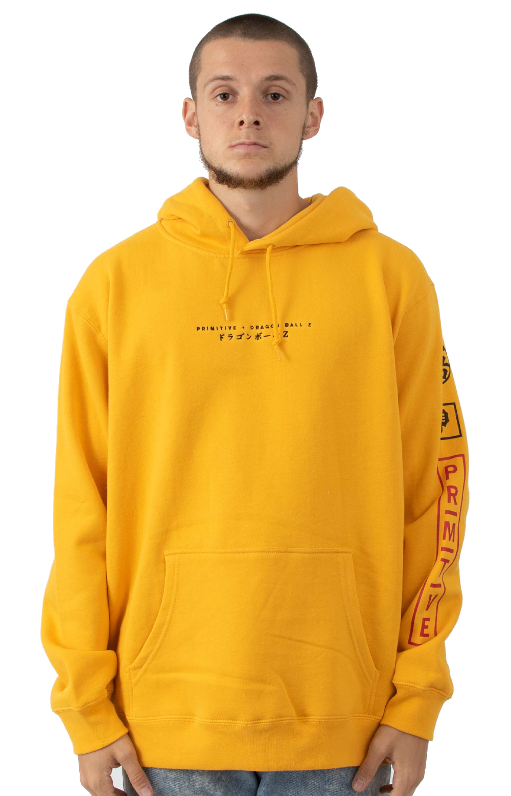 Dragon Ball Club Pullover Hoodie - Gold