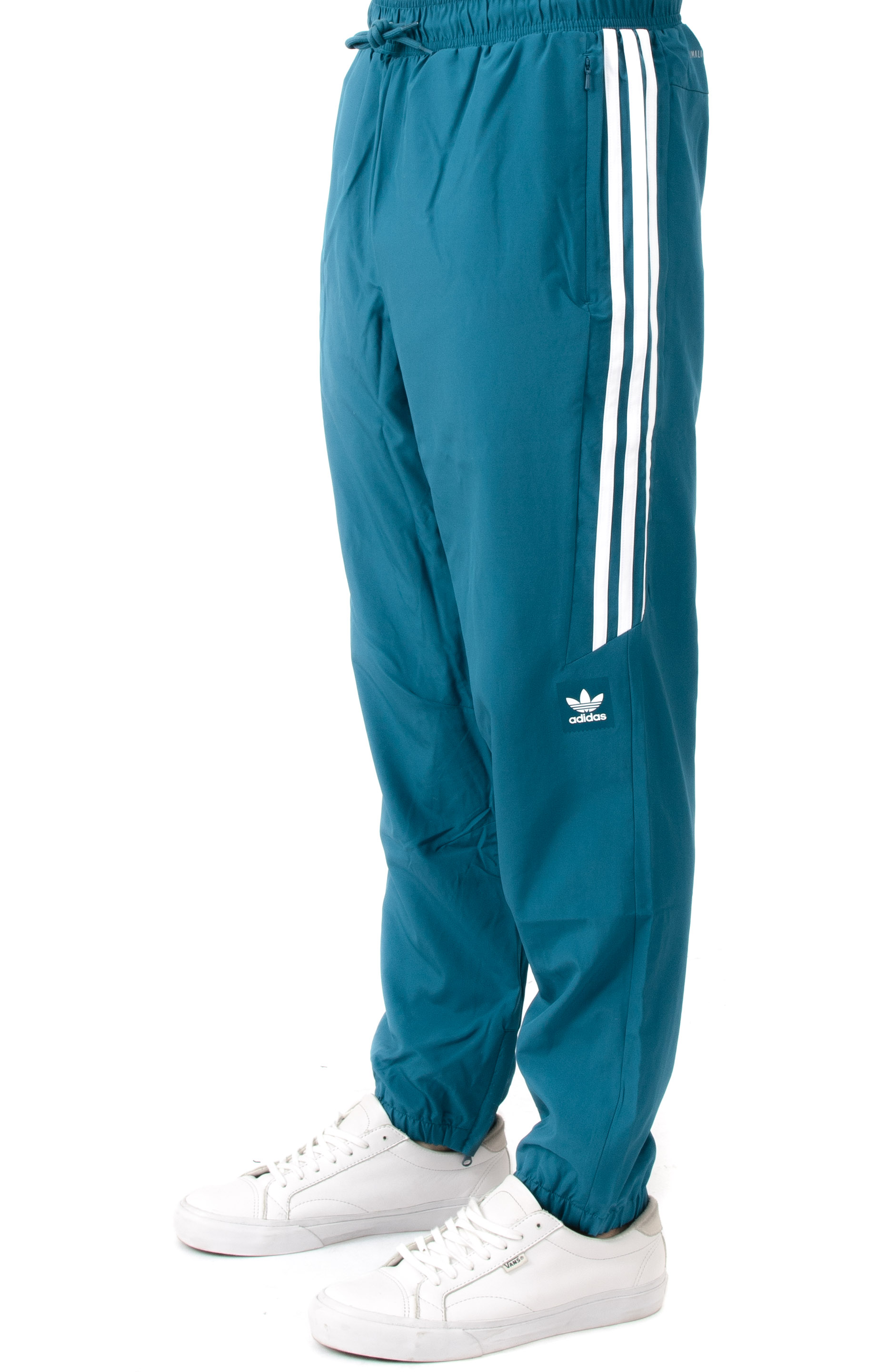 Classic Pants - Real Teal/White
