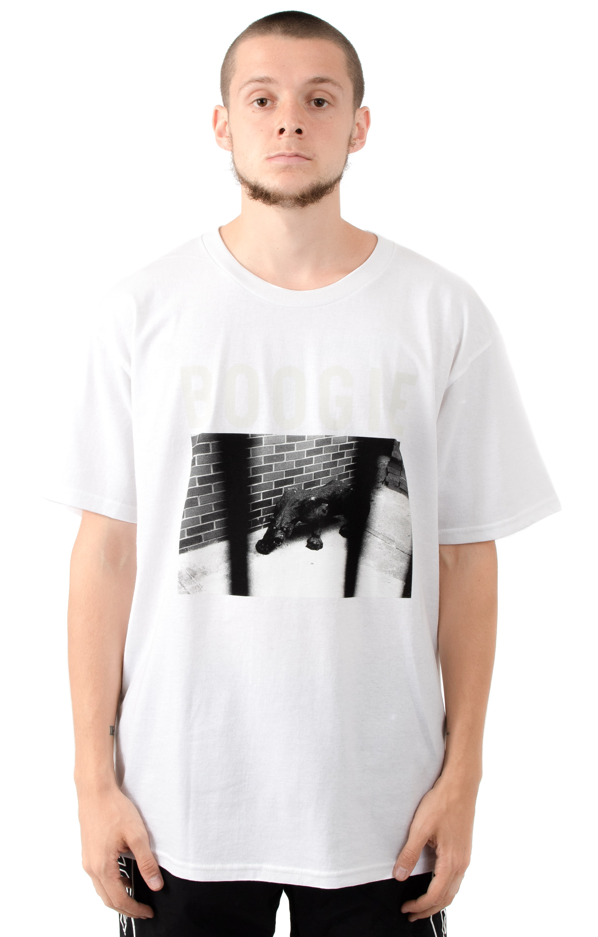 Caged T-Shirt - White
