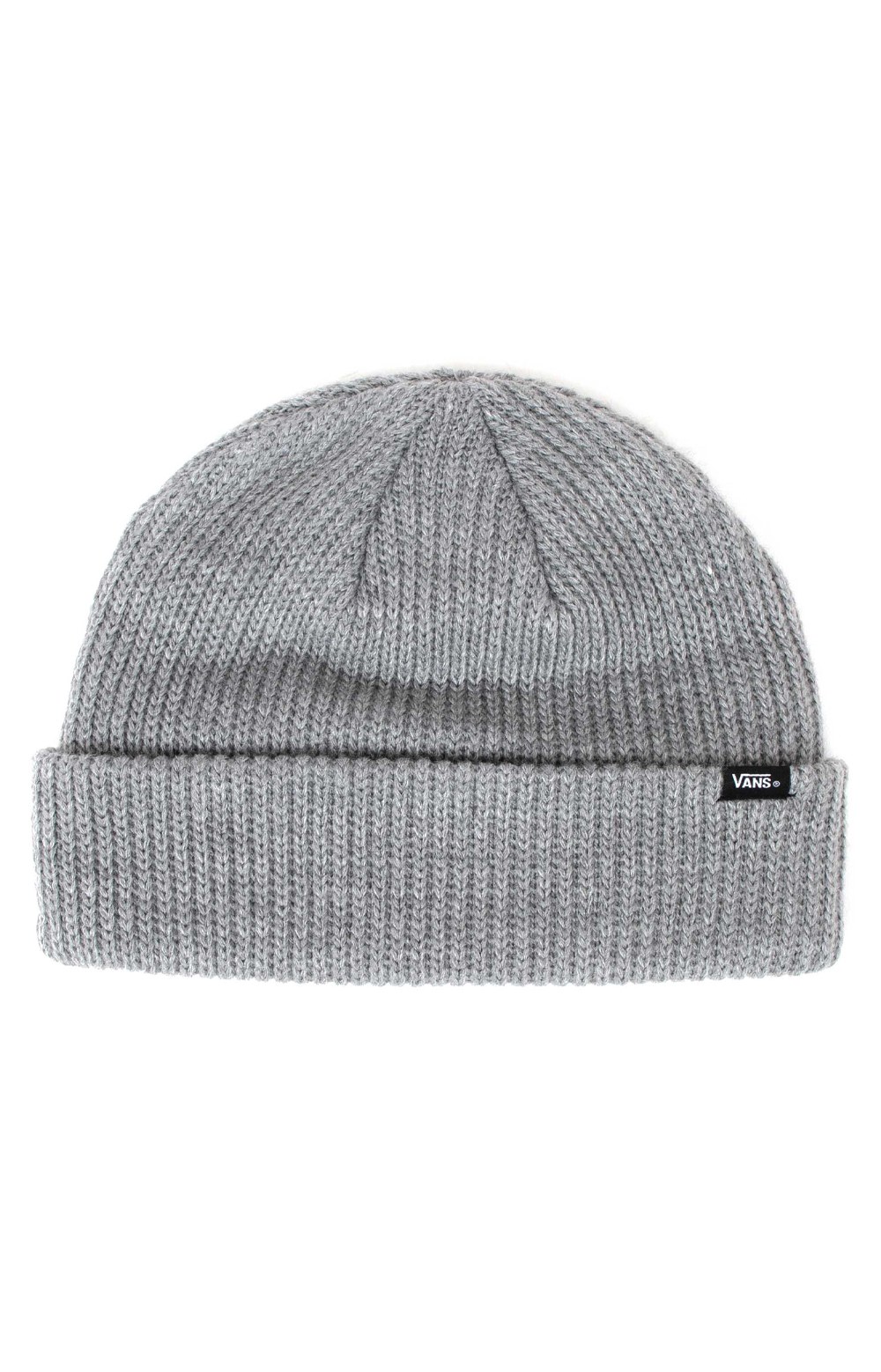 Core Basics Beanie - Heather Grey