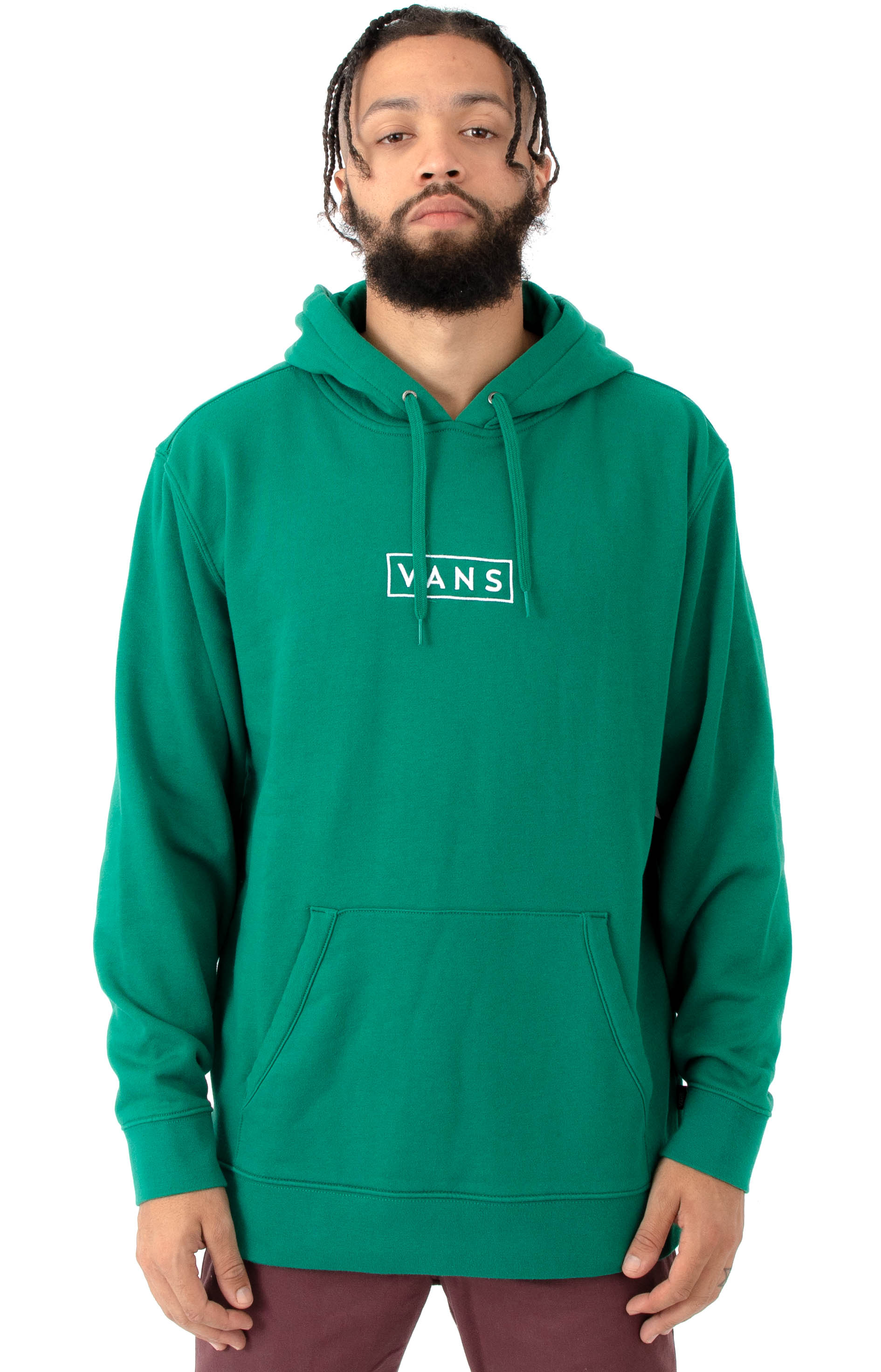 19e246c241 Easy Box Pullover Hoodie - Evergreen