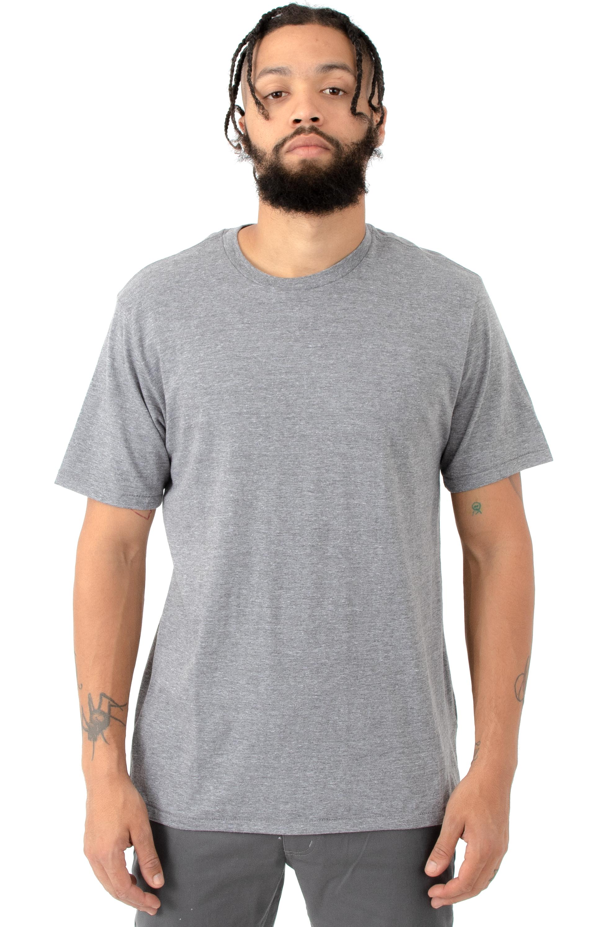 Basic Premium T-Shirt - Heather Grey