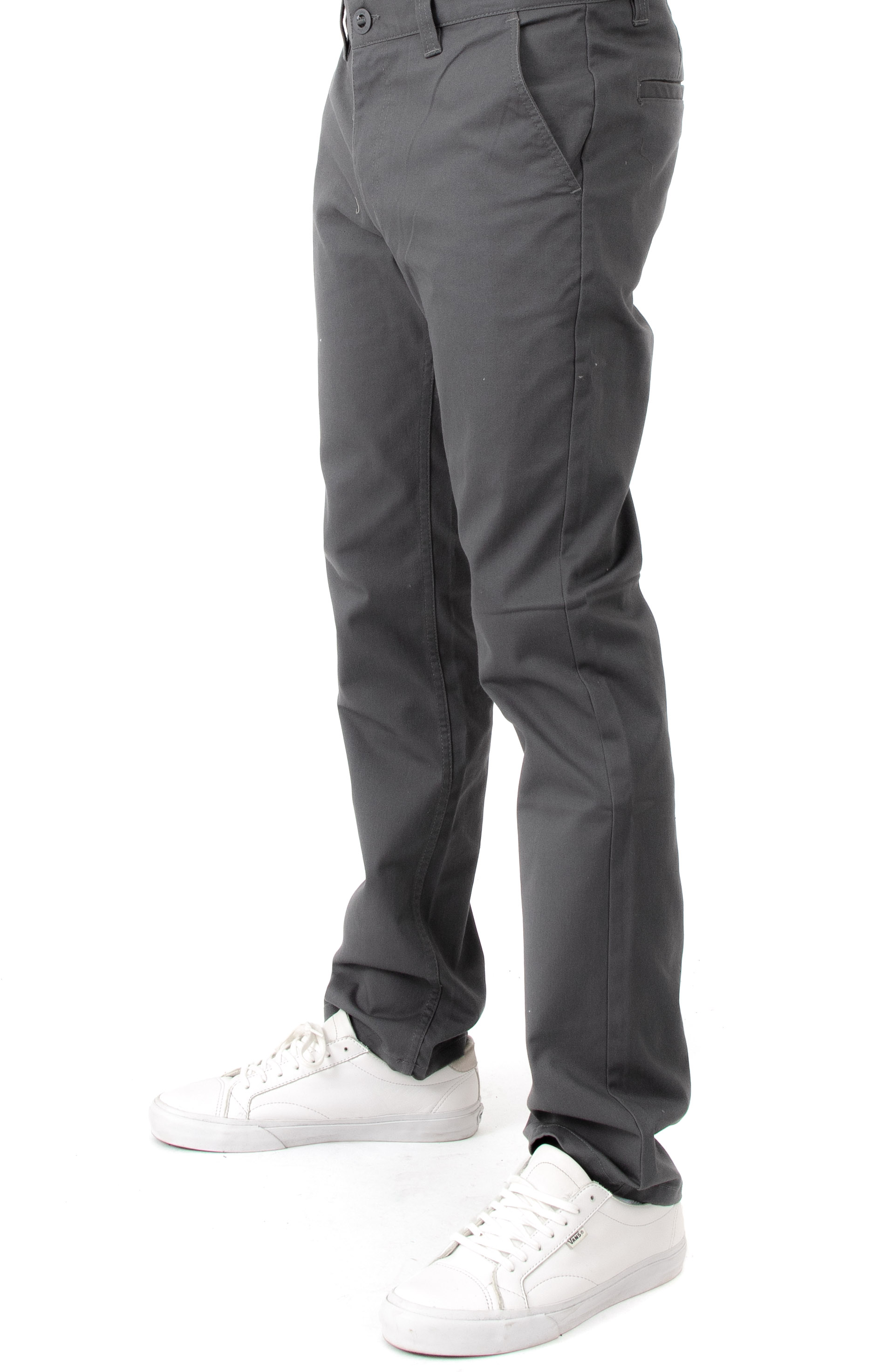 Brixton, Reserve Chino Pants - Charcoal