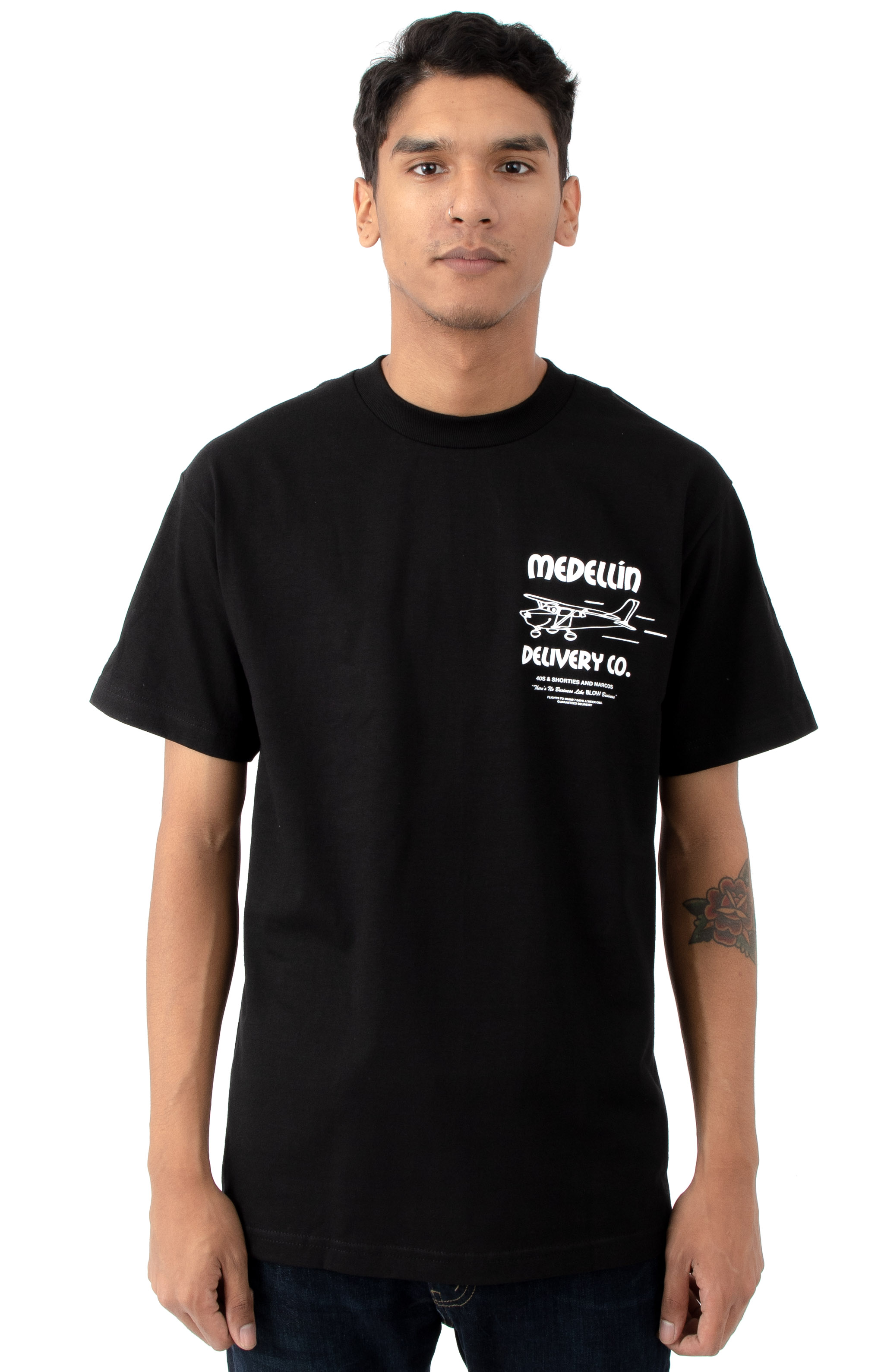 Delivery T-Shirt - Black 2