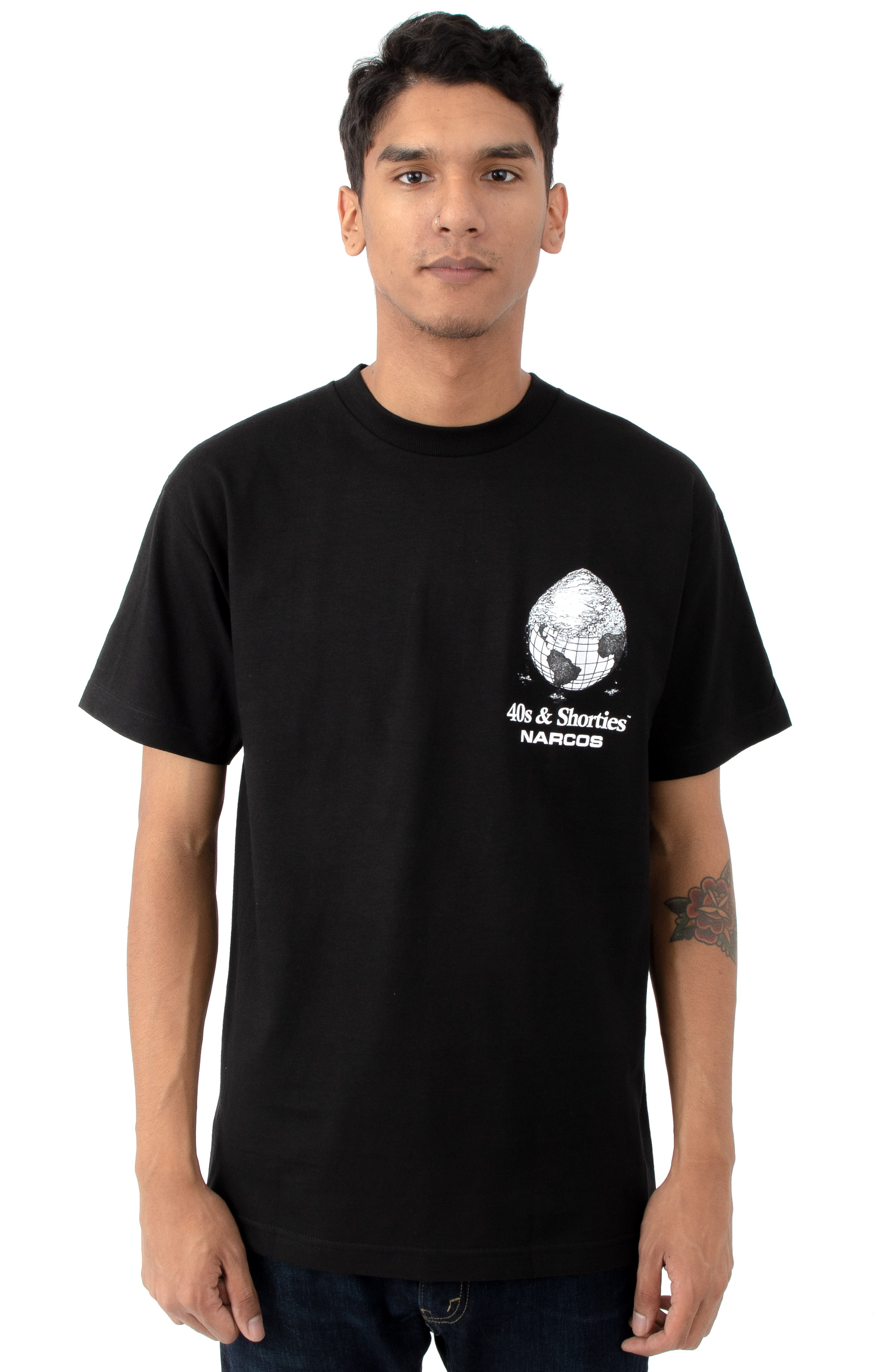 Cover The Earth T-Shirt - Black 2
