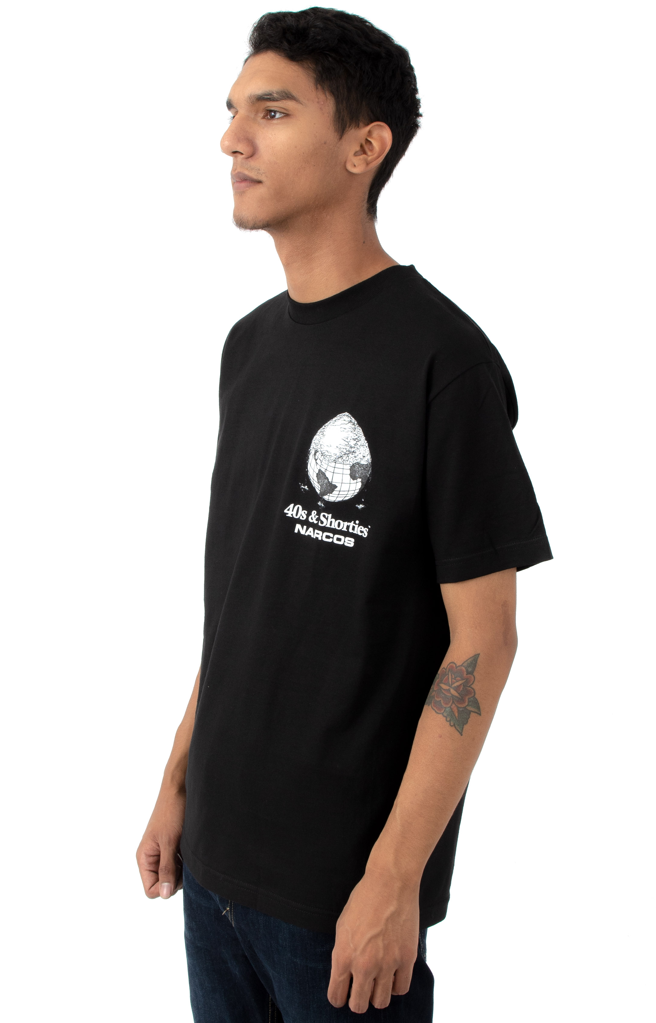Cover The Earth T-Shirt - Black 3