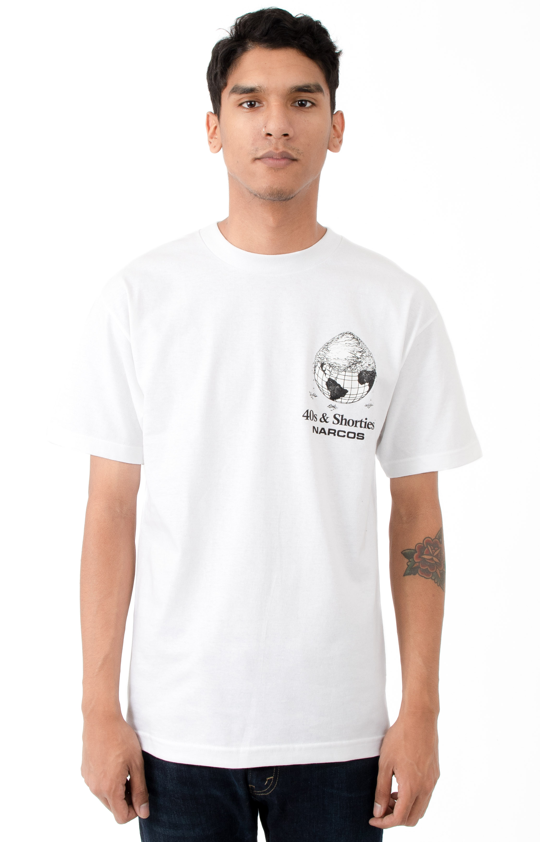 Cover The Earth T-Shirt - White 2