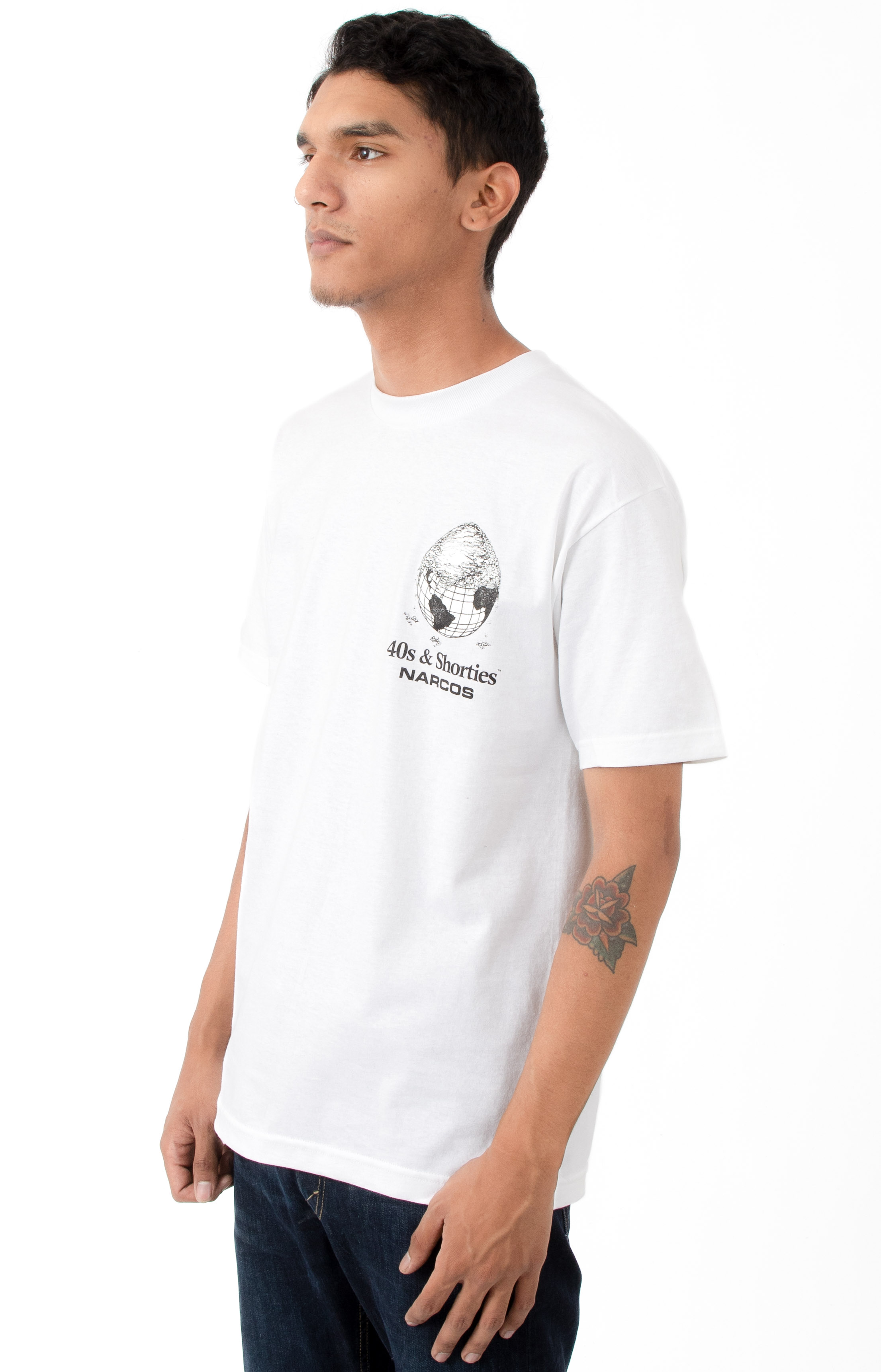 Cover The Earth T-Shirt - White 3