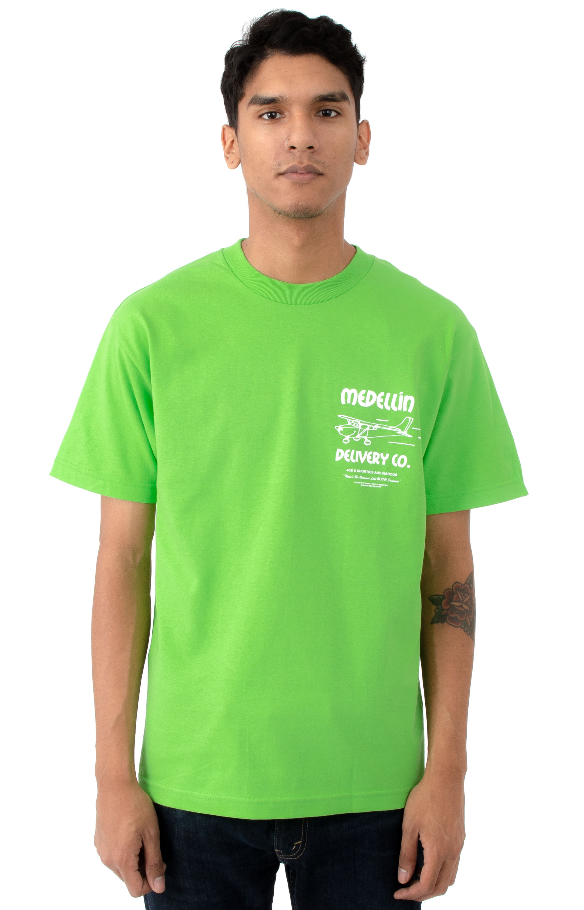 Delivery T-Shirt - Lime 2