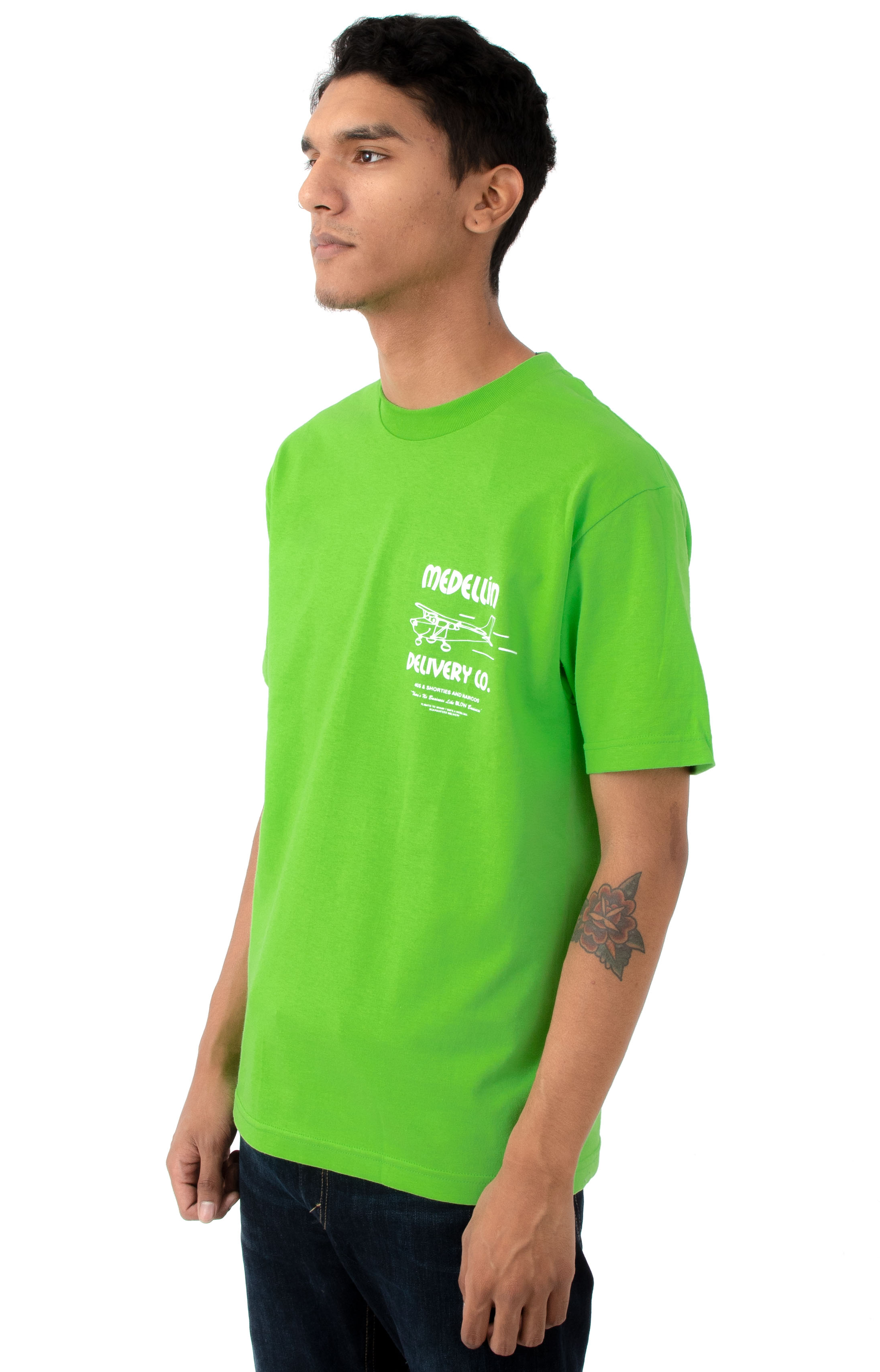 Delivery T-Shirt - Lime 3