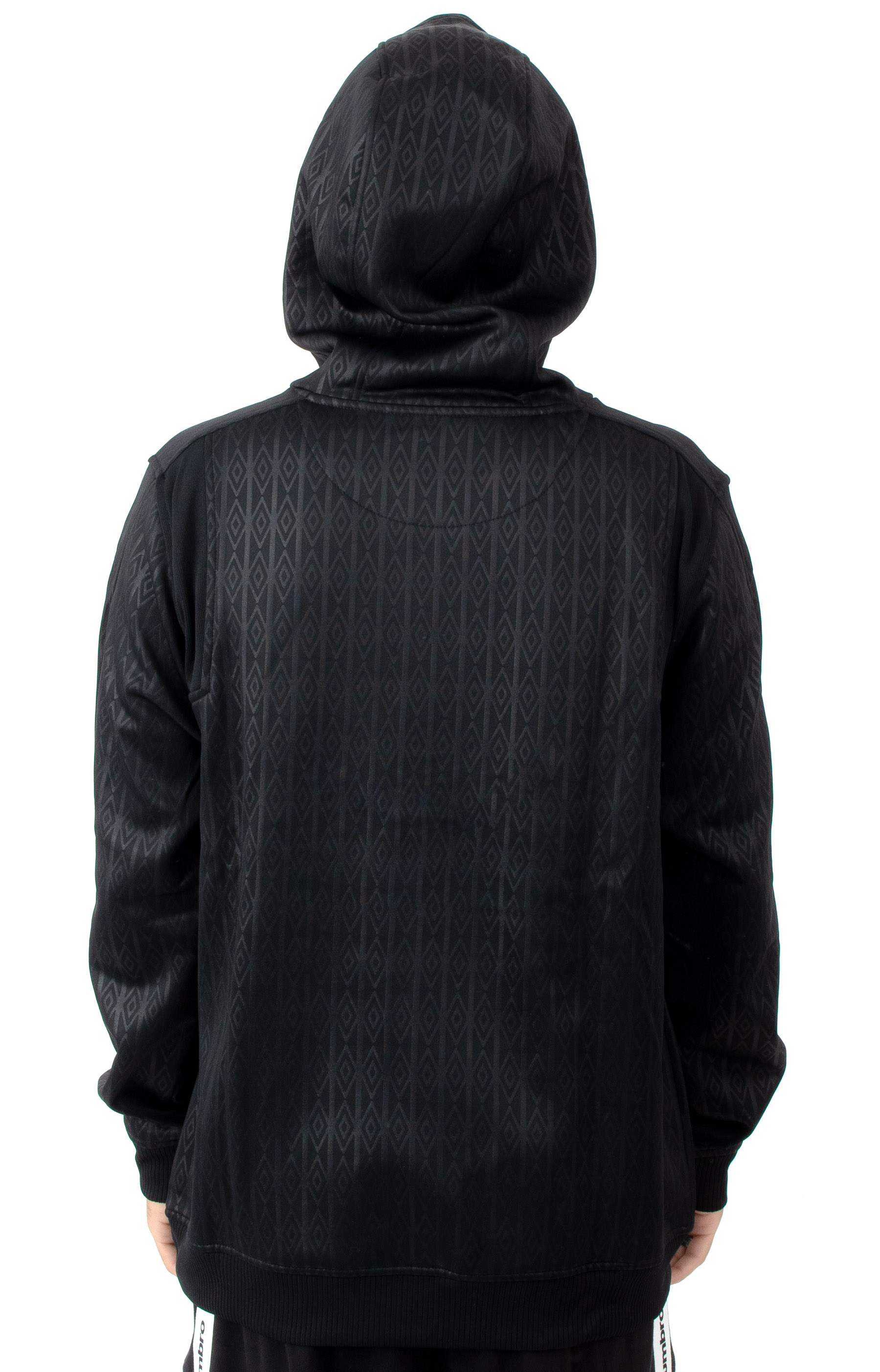 Goal Line Pullover Hoodie - Black/White 3