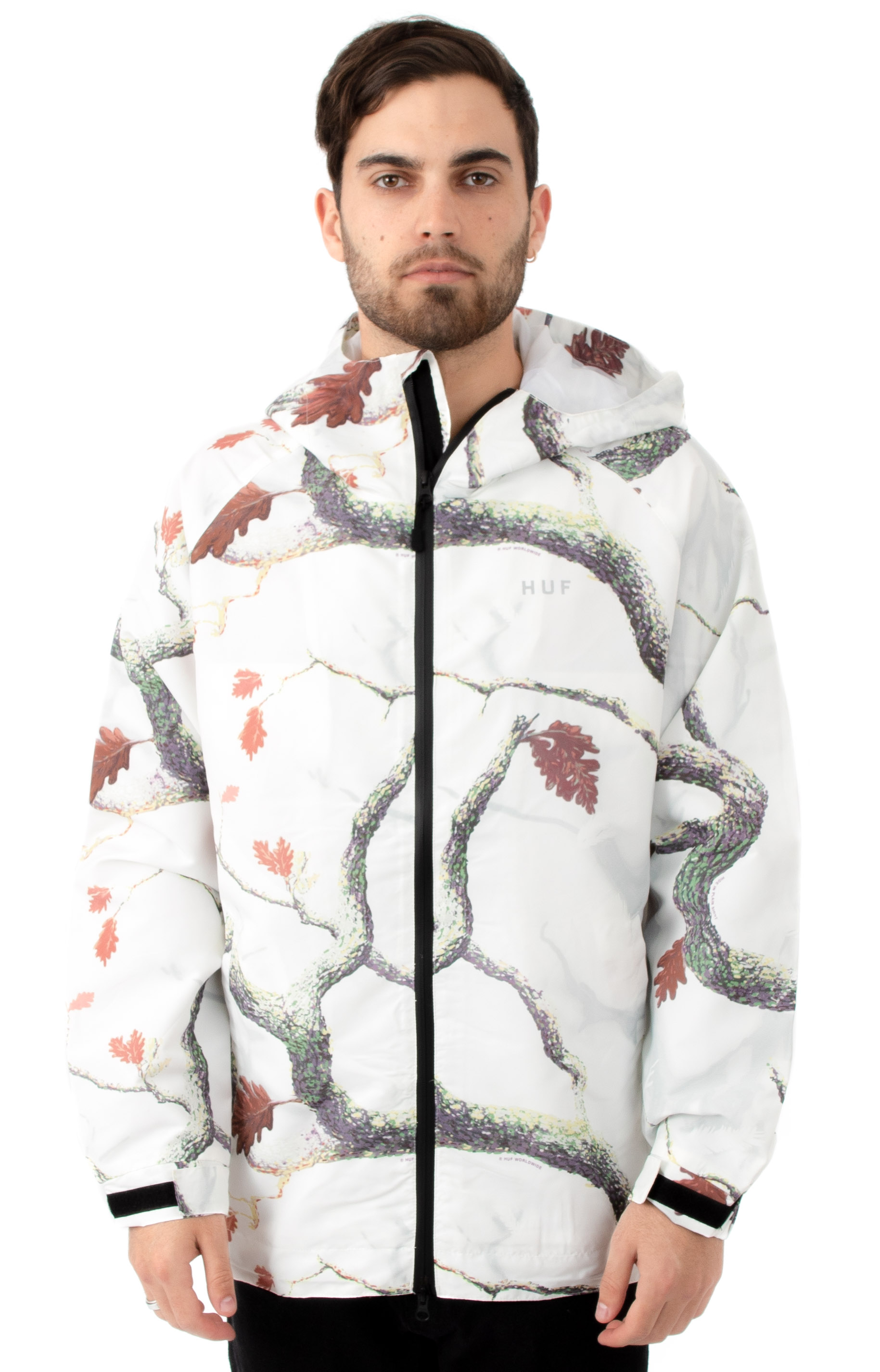 Huf 77334 Standard Shell Jacket - White