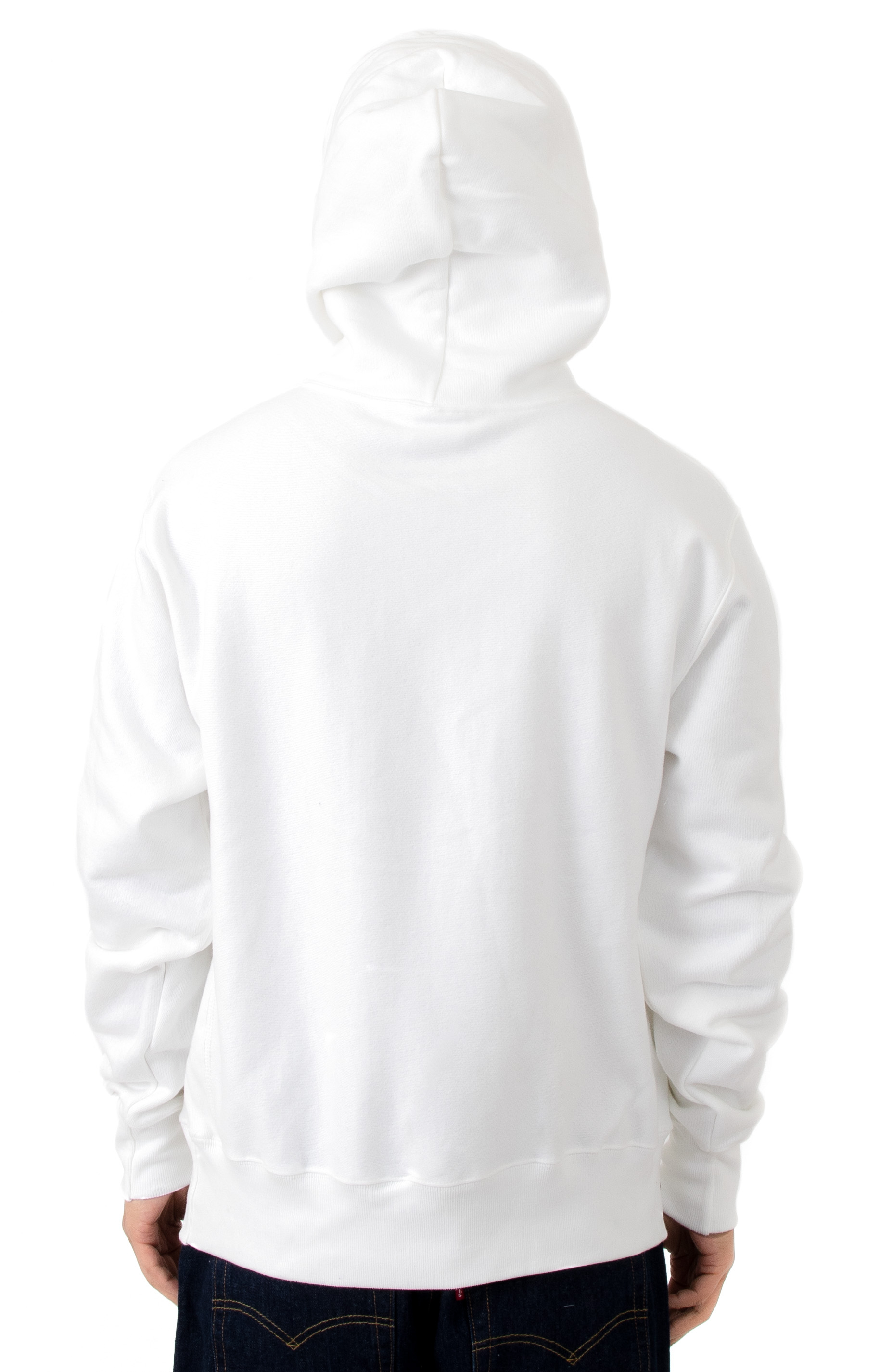 RW Sublimated C Logo Pullover Hoodie - White  3