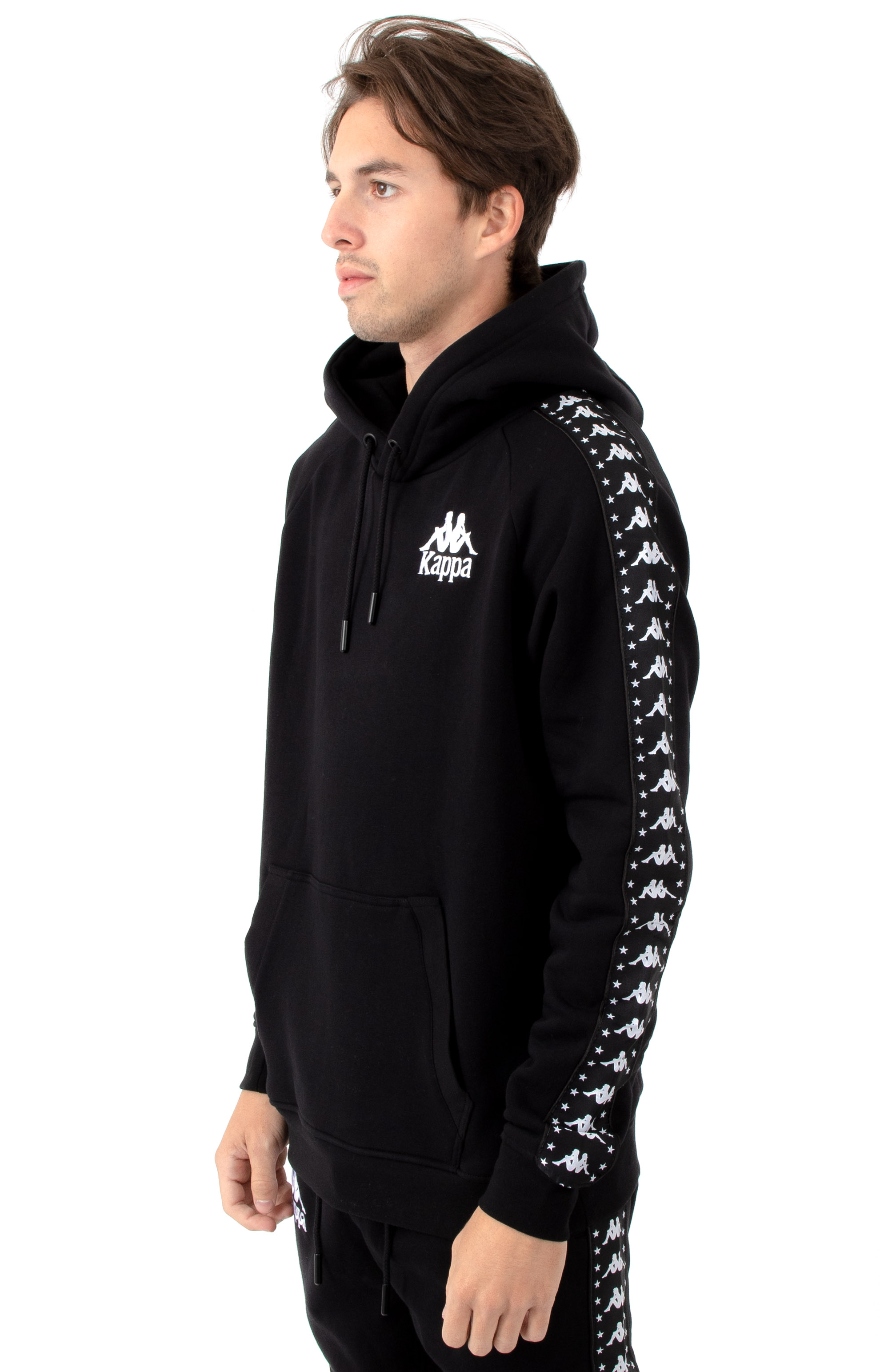 Authentic Porta Pullover Hoodie - Black/White