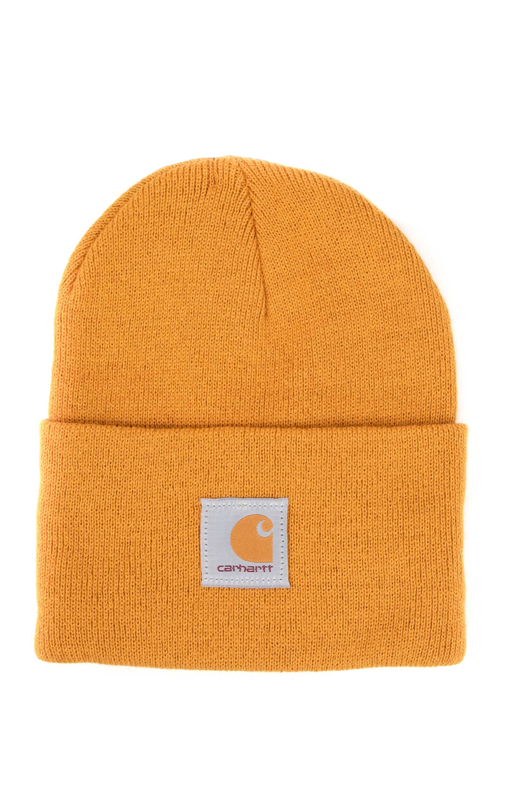 Acrylic Watch Hat - Carhartt Gold