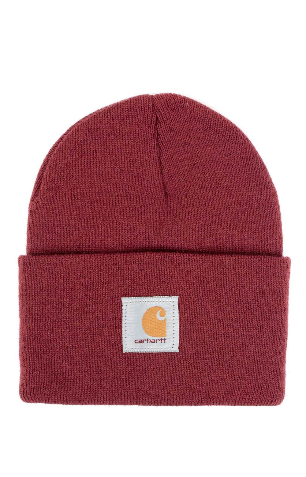 Carhartt, Acrylic Watch Hat - Cherry Stone