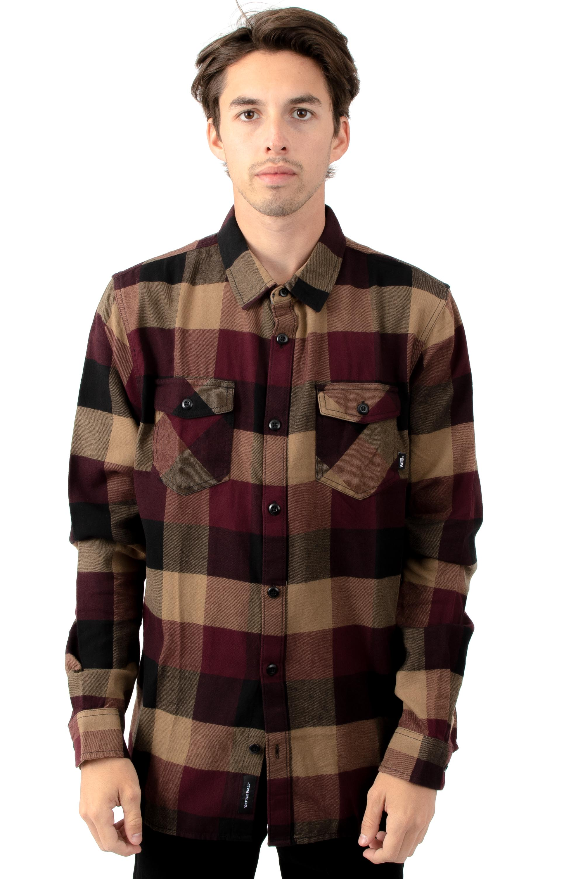 Vans, Box Flannel Button-Up Shirt - Port Royale