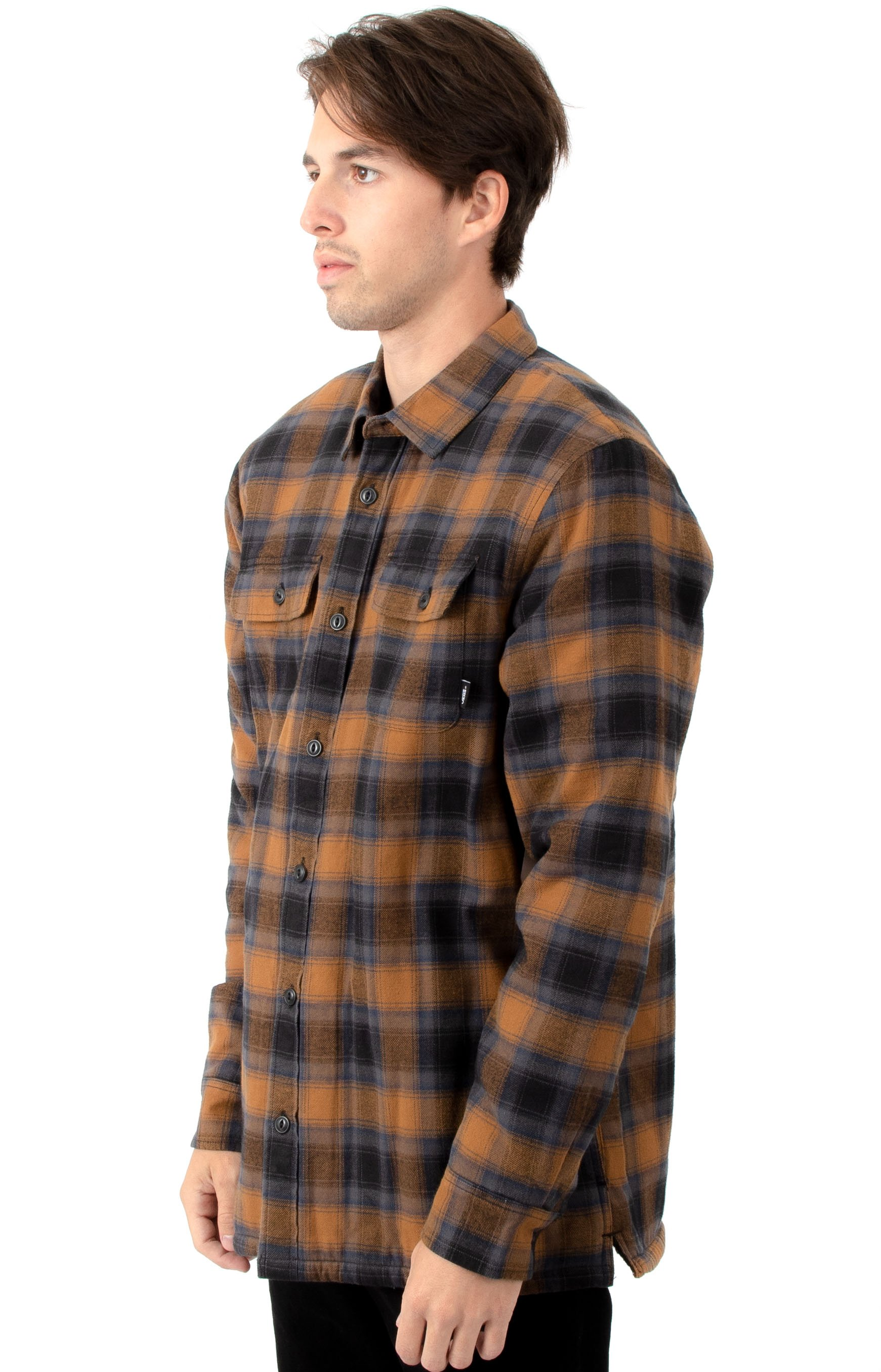Loomis Button-Up Shirt - Black/Rubber 2