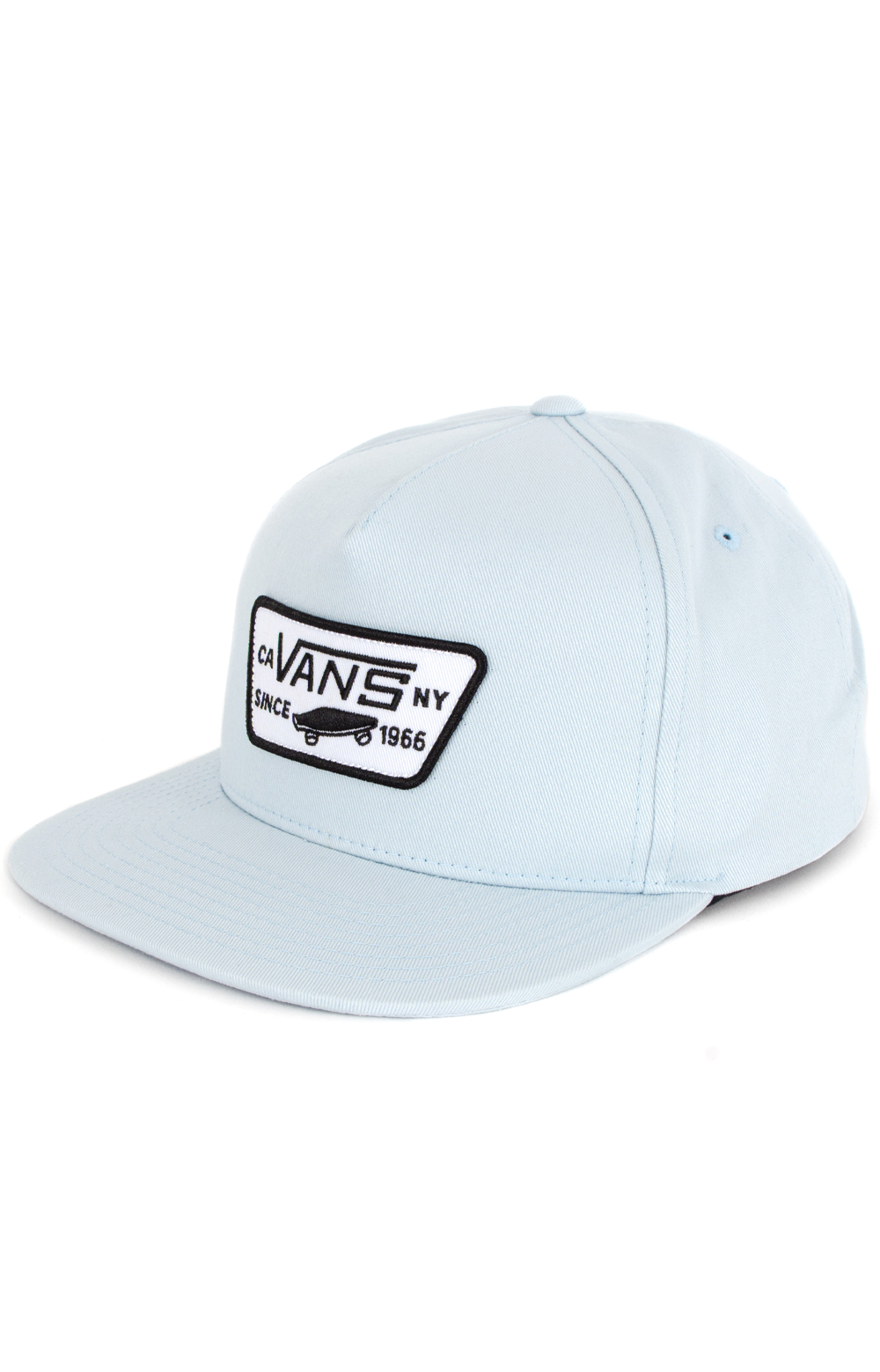 Full Patch Snap-Back Hat - Baby Blue
