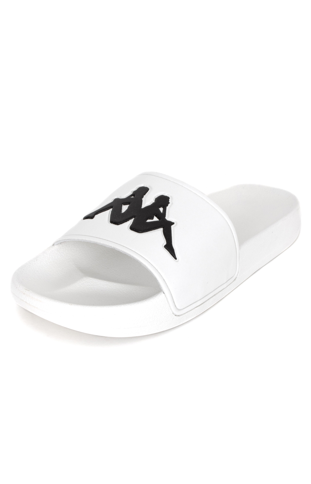 Authentic Adam 2 Slides - White/Black