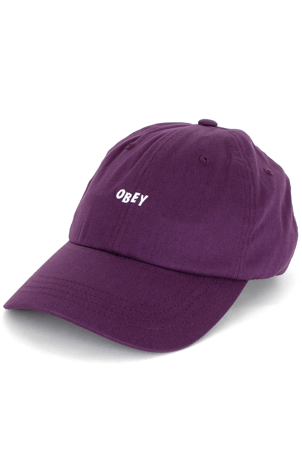 Jumble Bar III Dad Hat - Plum