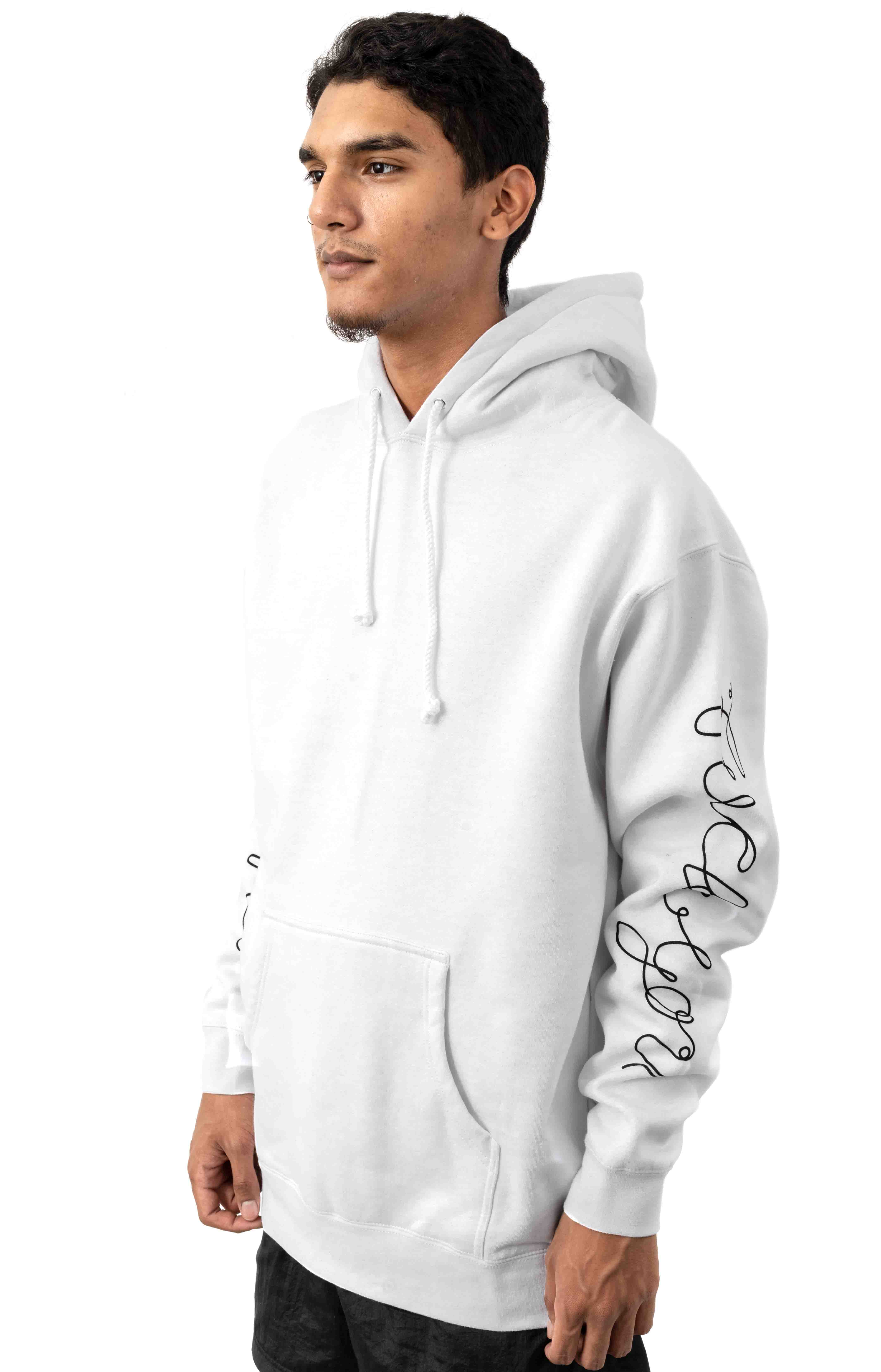 Tangled Pullover Hoodie - White  2