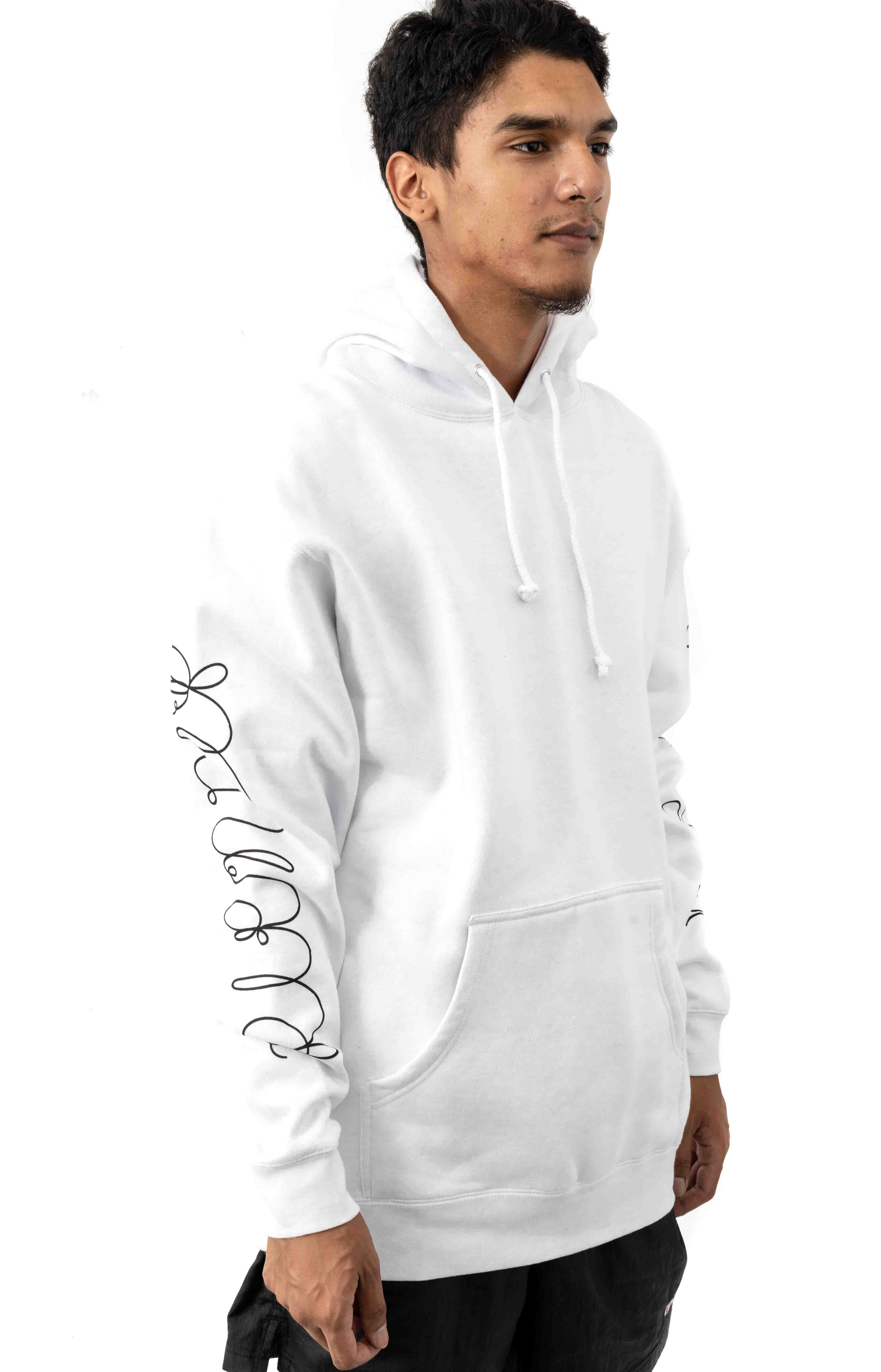 Tangled Pullover Hoodie - White  3