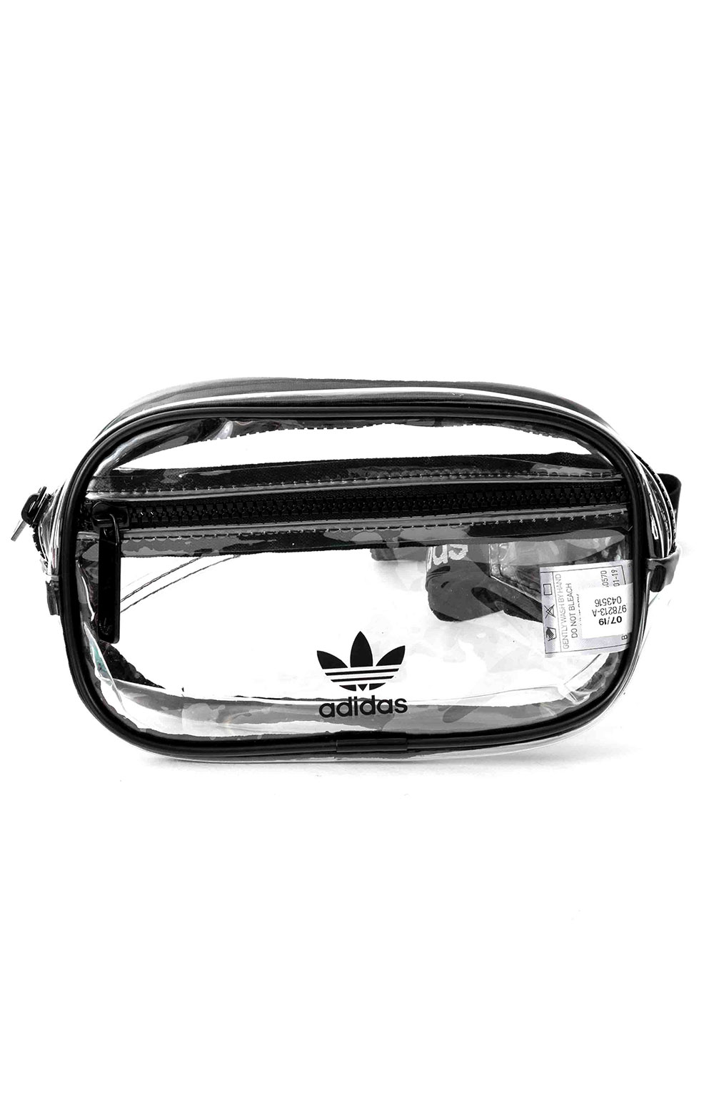 Originals Clear Waist Pack - Black