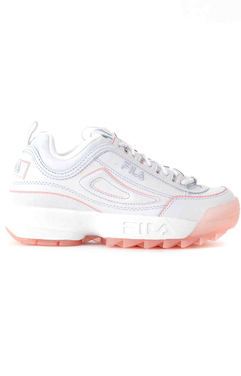 Disruptor II Ice Shoes - White/Pink
