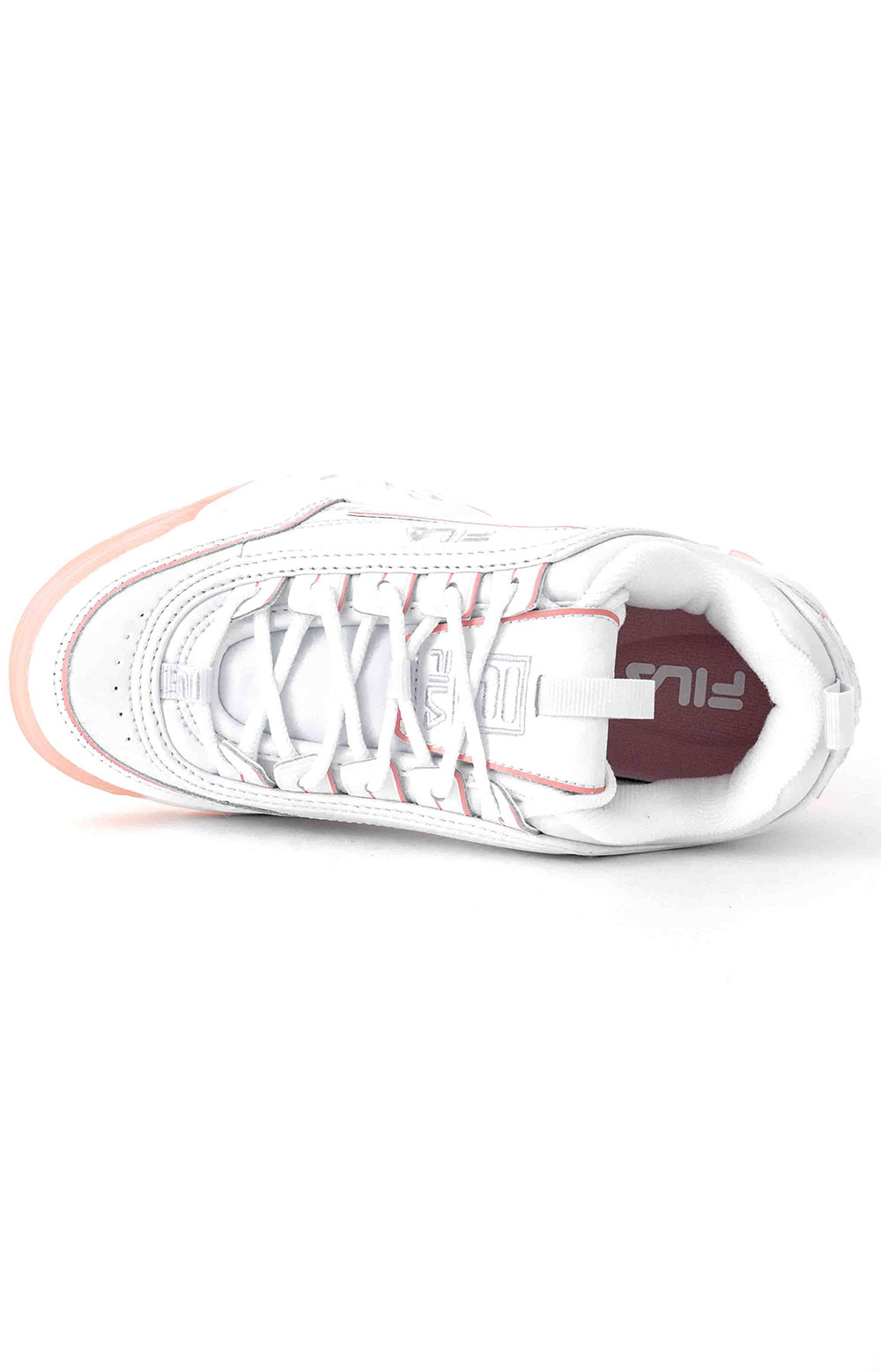 Disruptor II Ice Shoes - White/Pink 2
