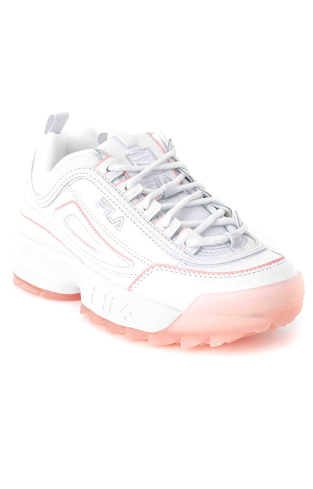 Disruptor II Ice Shoes - White/Pink 3