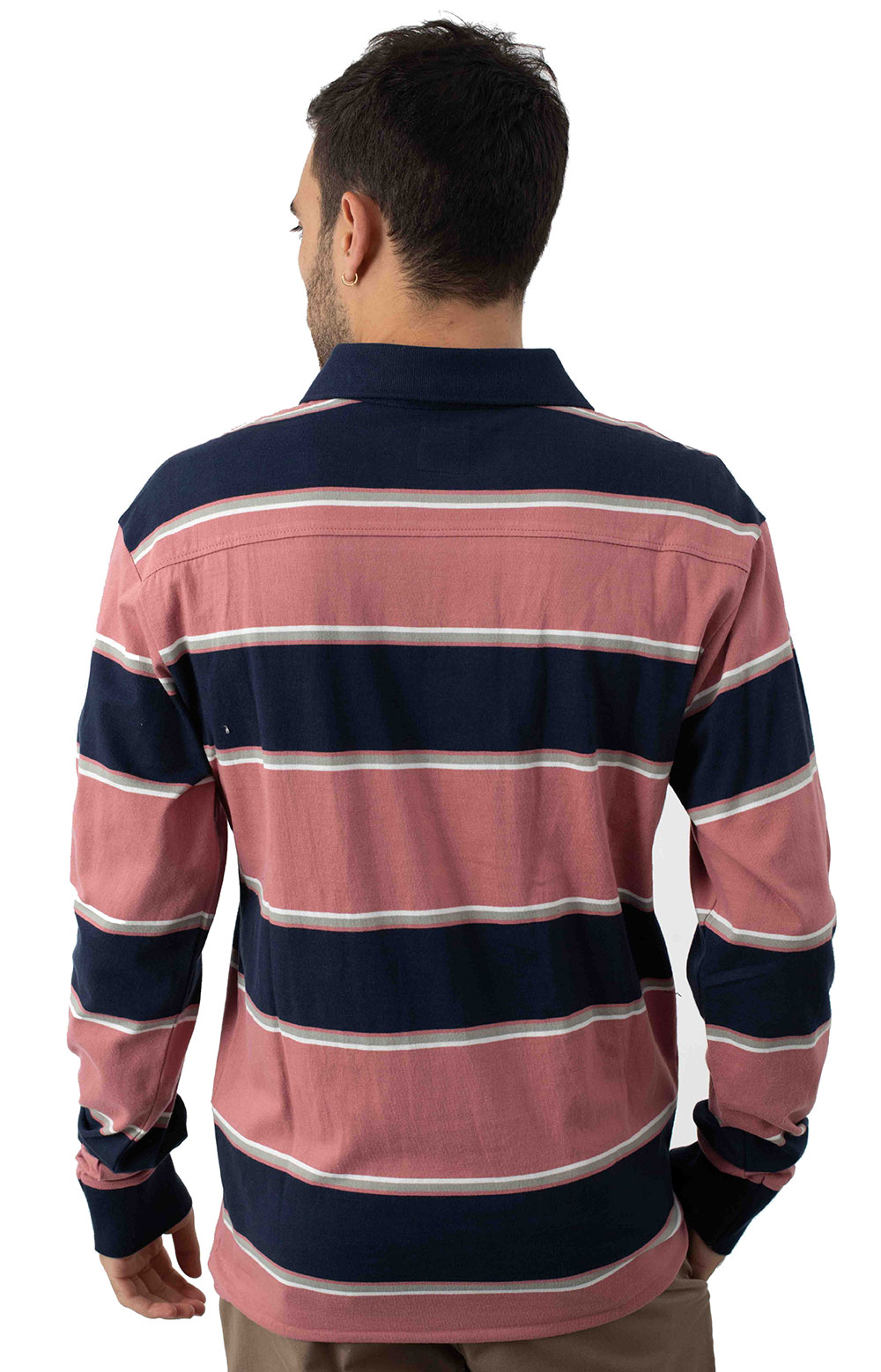 April Skies L/S Polo - Dusty Rose  3