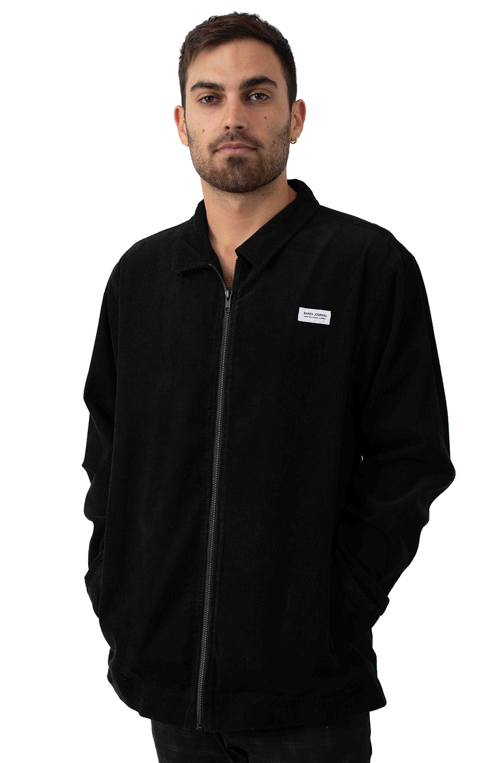 Mosely Jacket - Dirty Black