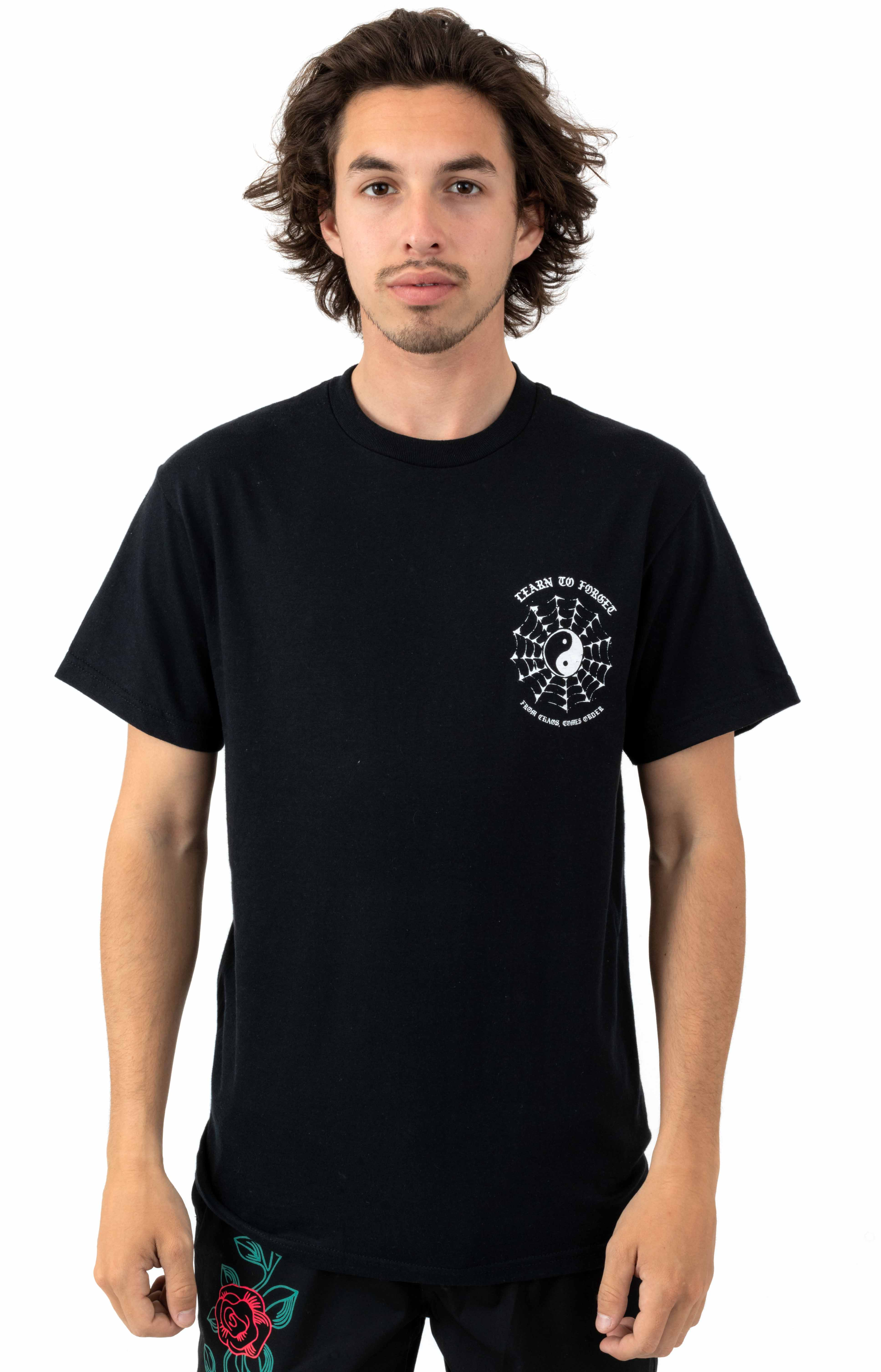 Web Of Lies T-Shirt - Black 2