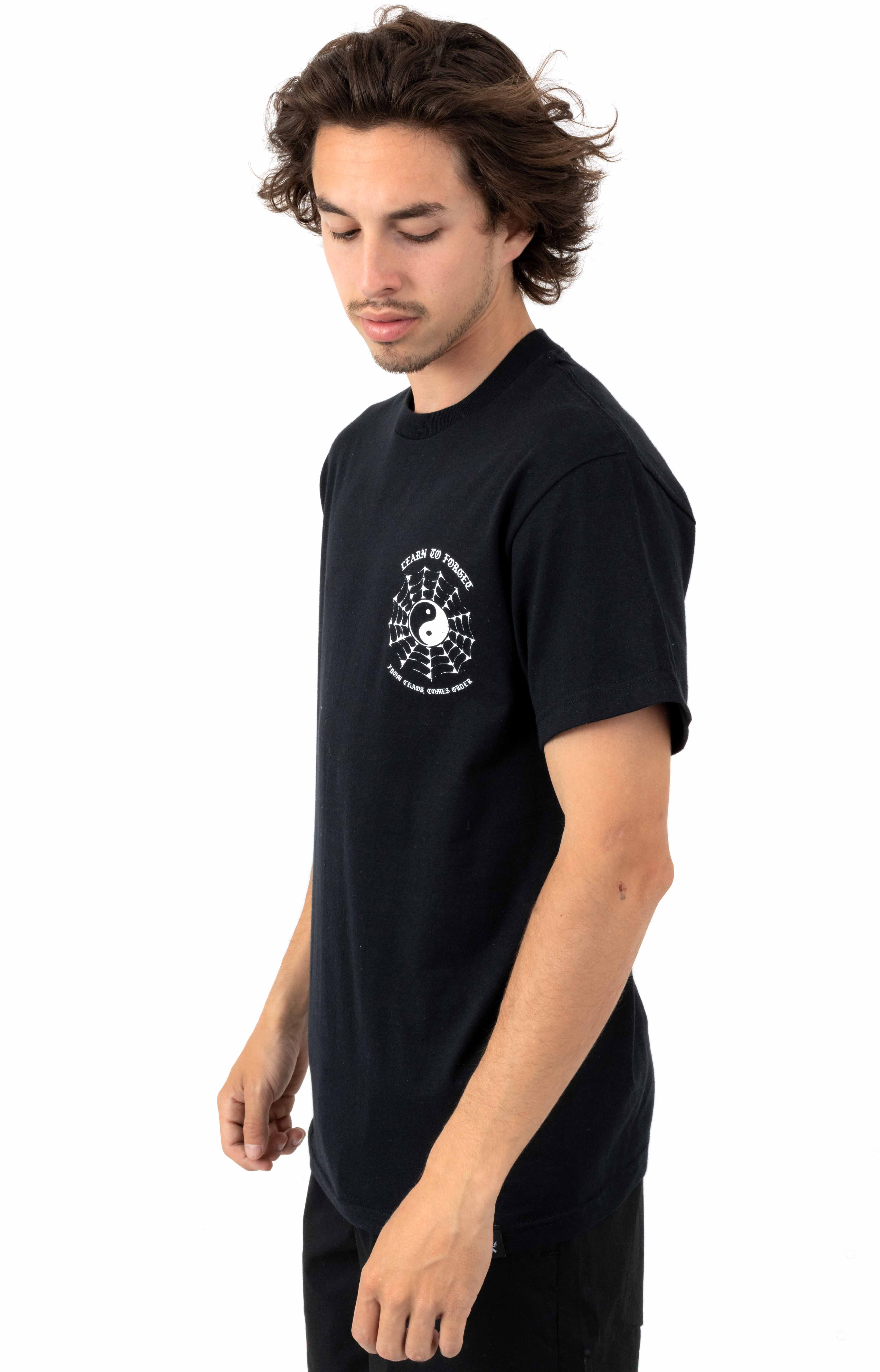 Web Of Lies T-Shirt - Black 3