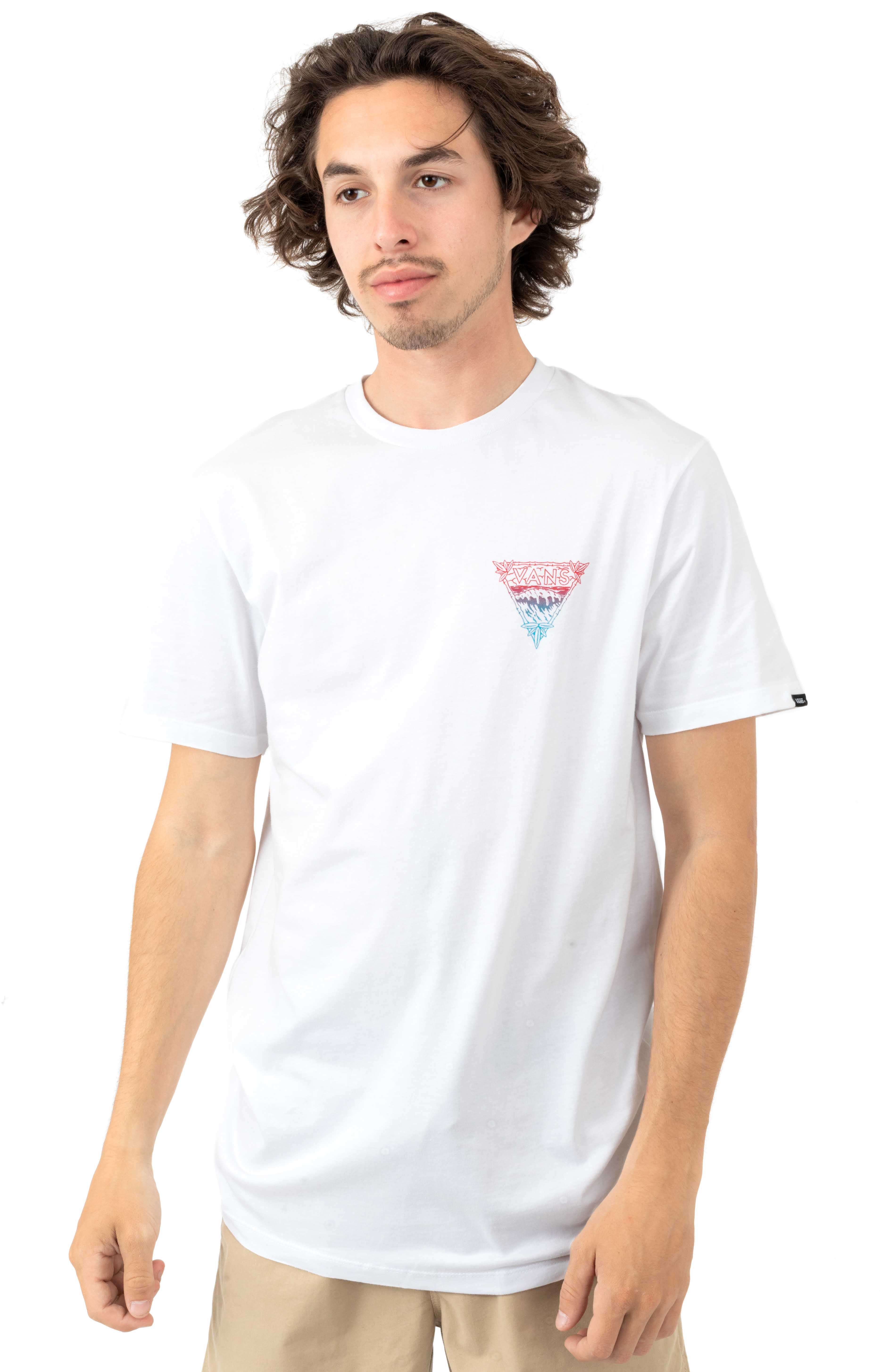 Novelty Wave T-Shirt - White