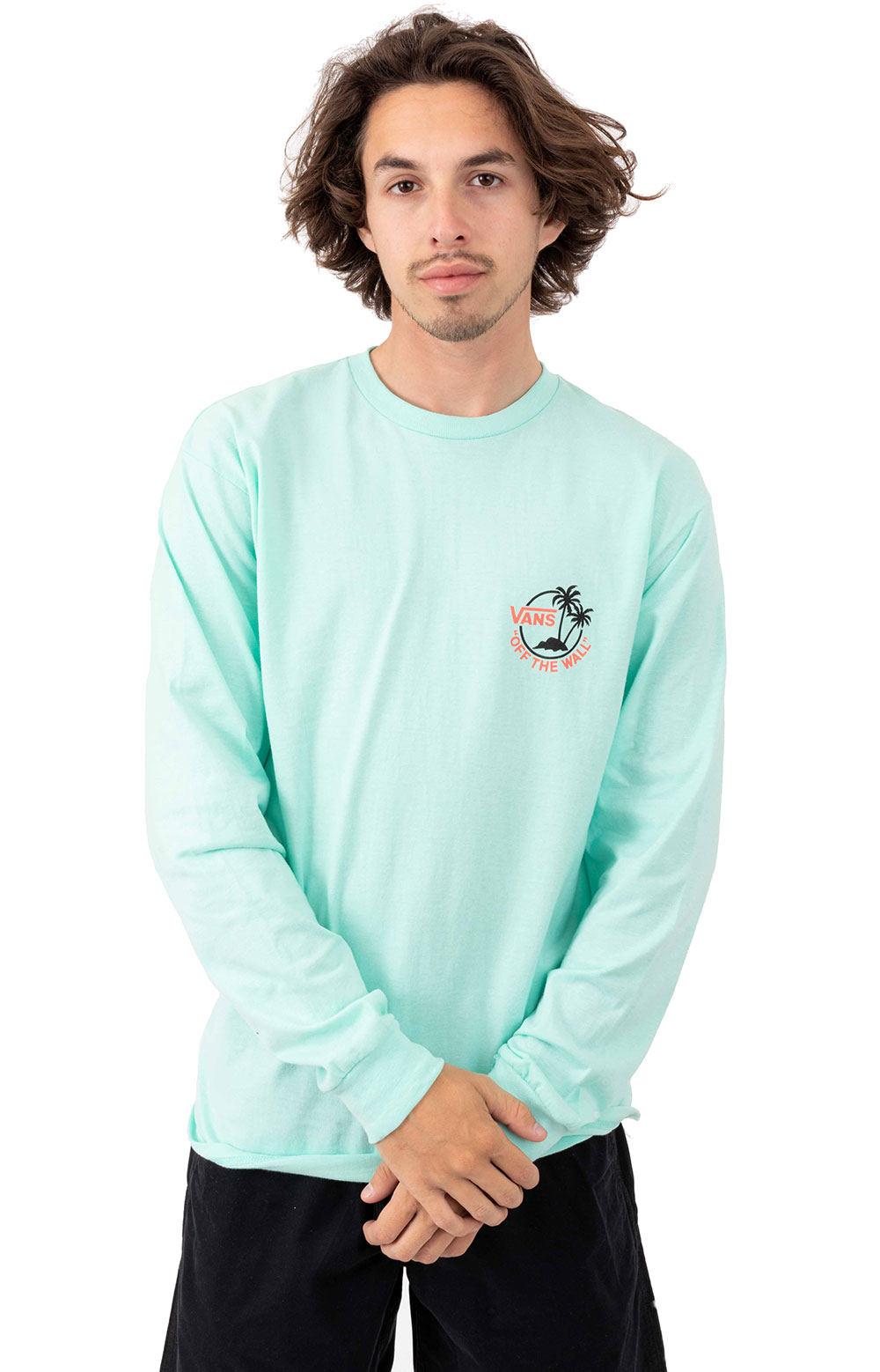 Surf Plam L/S Shirt - Mint