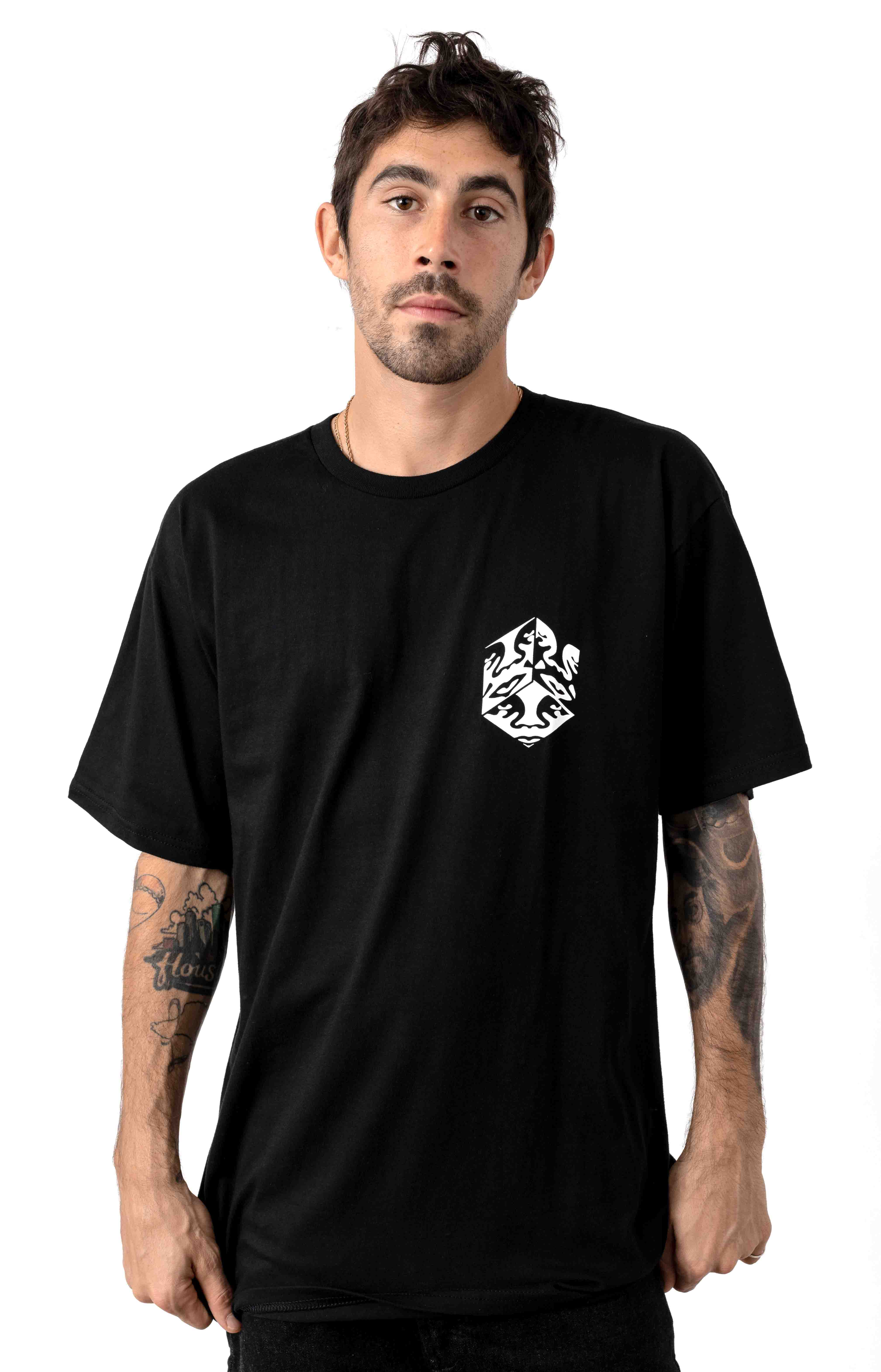 Obey Cube T-Shirt - Black