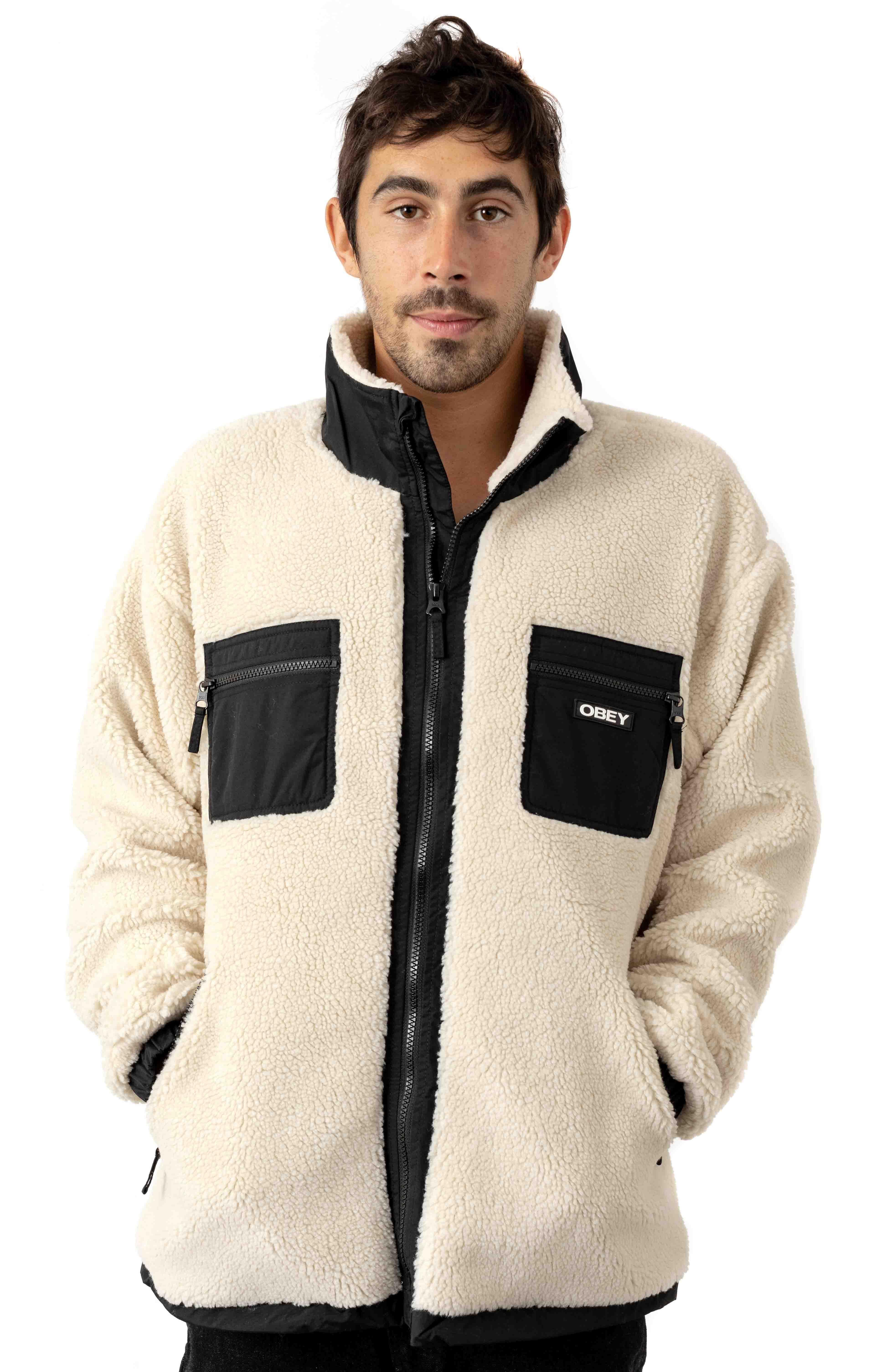 Out There Sherpa Jacket - Natural