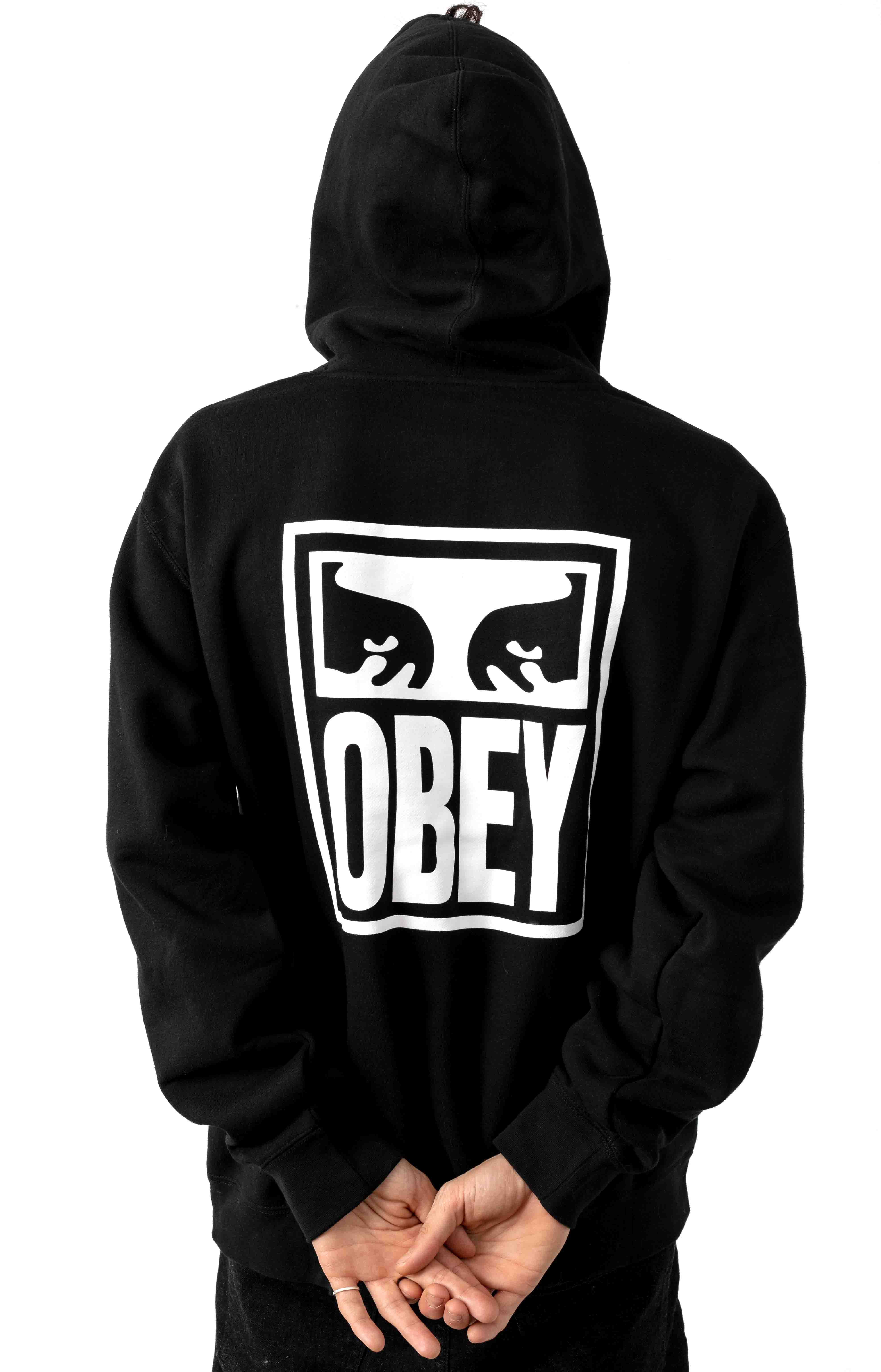 Obey Eyes Icon 2 Pullover Hoodie - Black